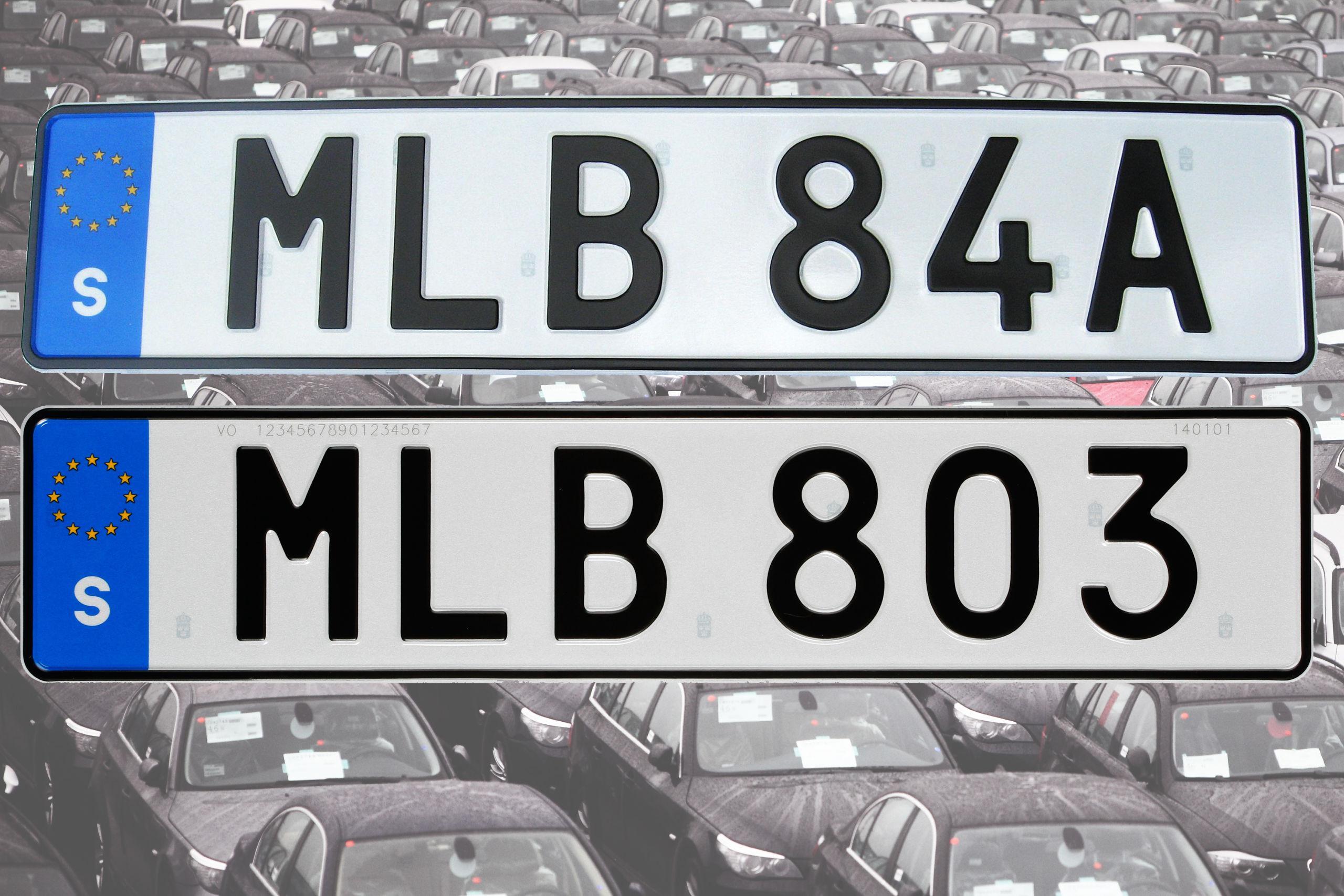 Soon we will get new license plates   Gothenburg Post
