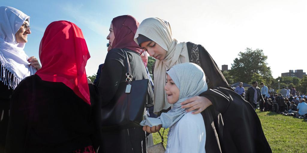 muslimska kvinnor som inte bär slöja