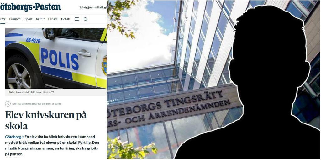 Knivdrama på grundskola – 15-åring inför rätta 7822d493910a6