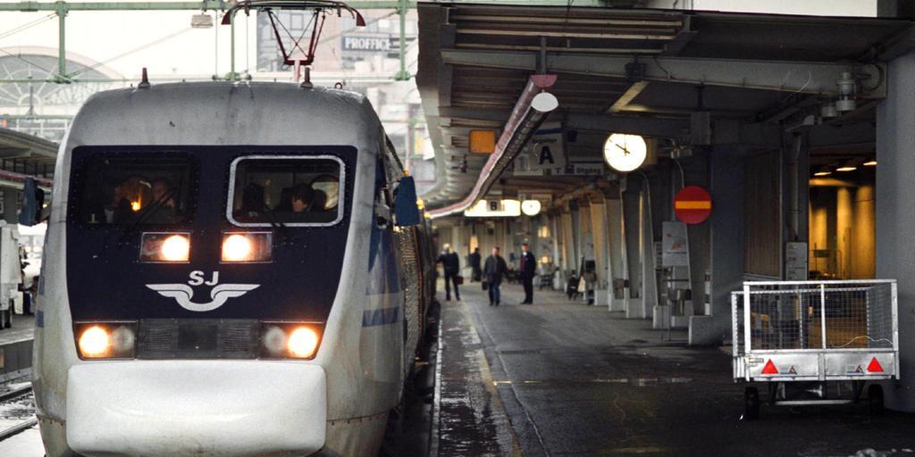 tåg från stockholm