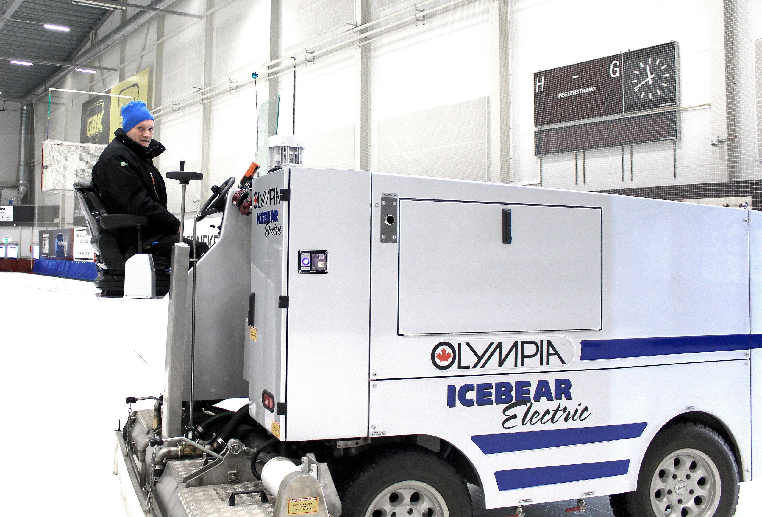 Underbar Utan ismaskinen stannar Slättbergshallen