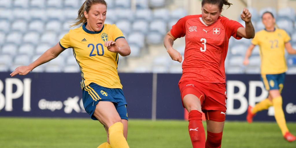 Asllani och Larsson briljerade mot Schweiz.