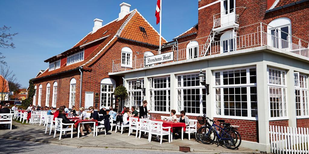 Bröndums Hotel i Skagen är ett perfekt ställe för lunch.