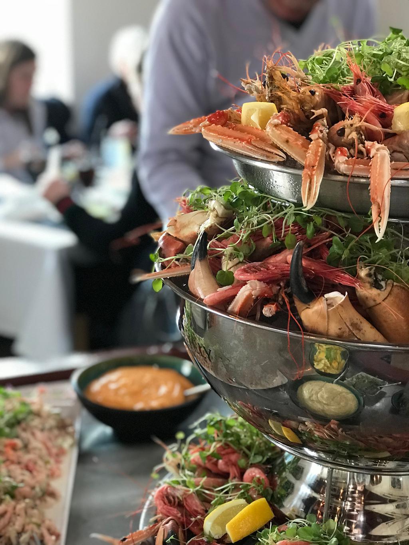 I Skagen är det fisk och skaldjur som gäller.