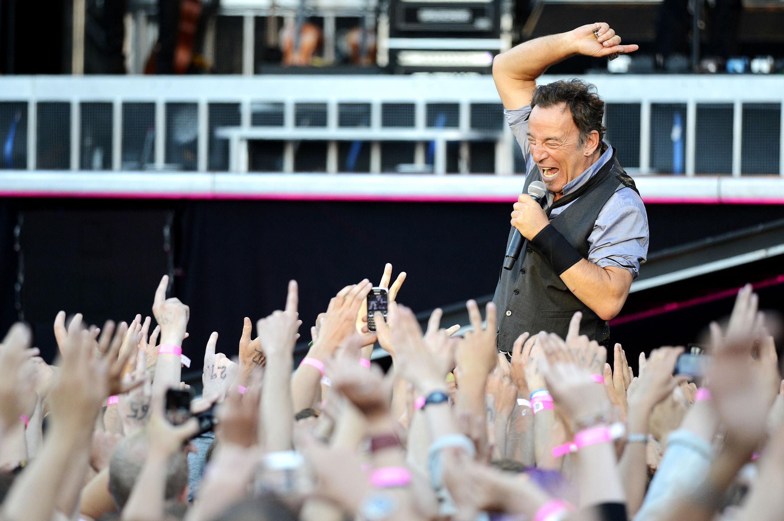 Bruce Springsteen släpper liveplatta inspelad i Göteborg