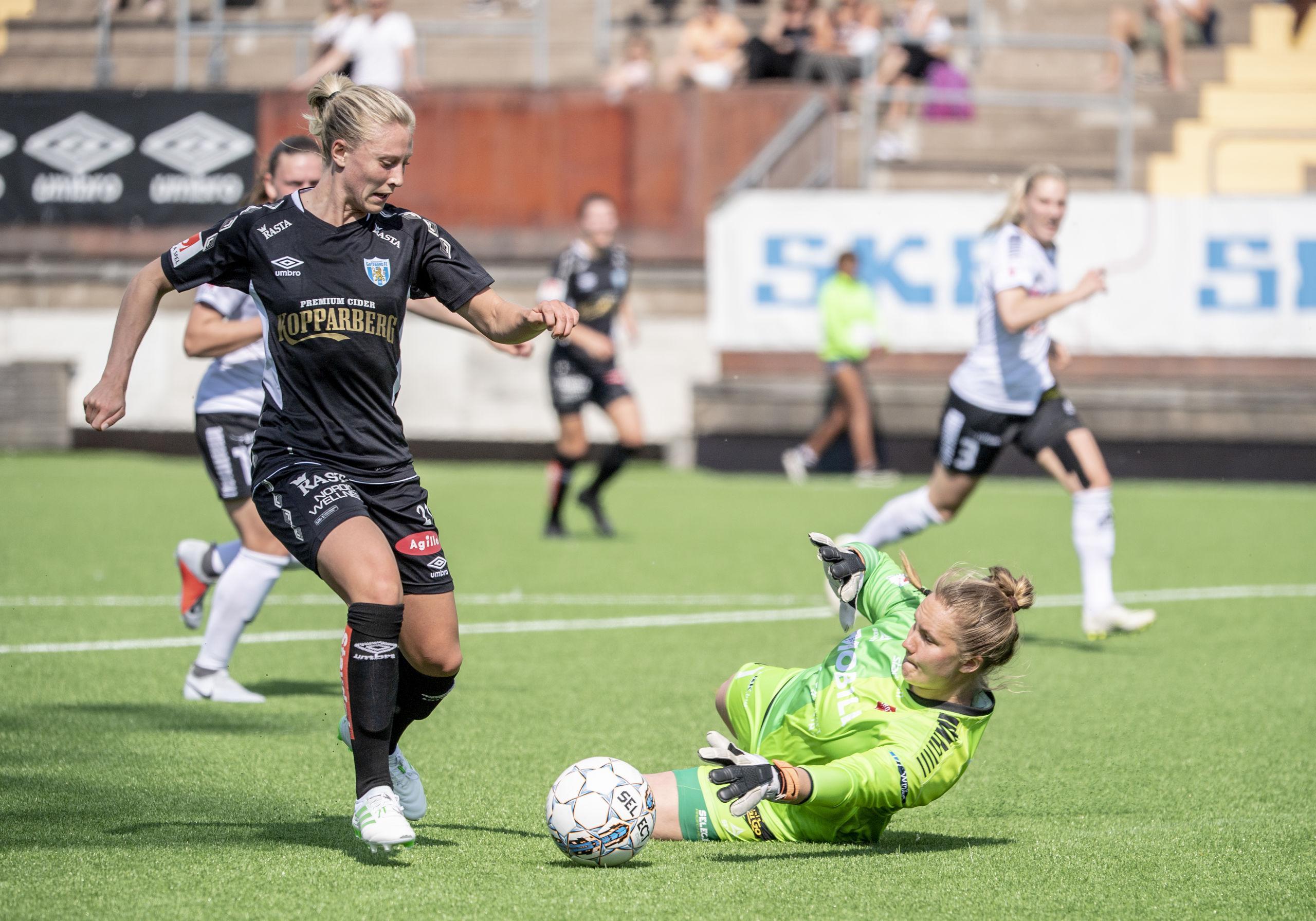 Rebecka Blomqvist månadens spelare i damallsvenskan