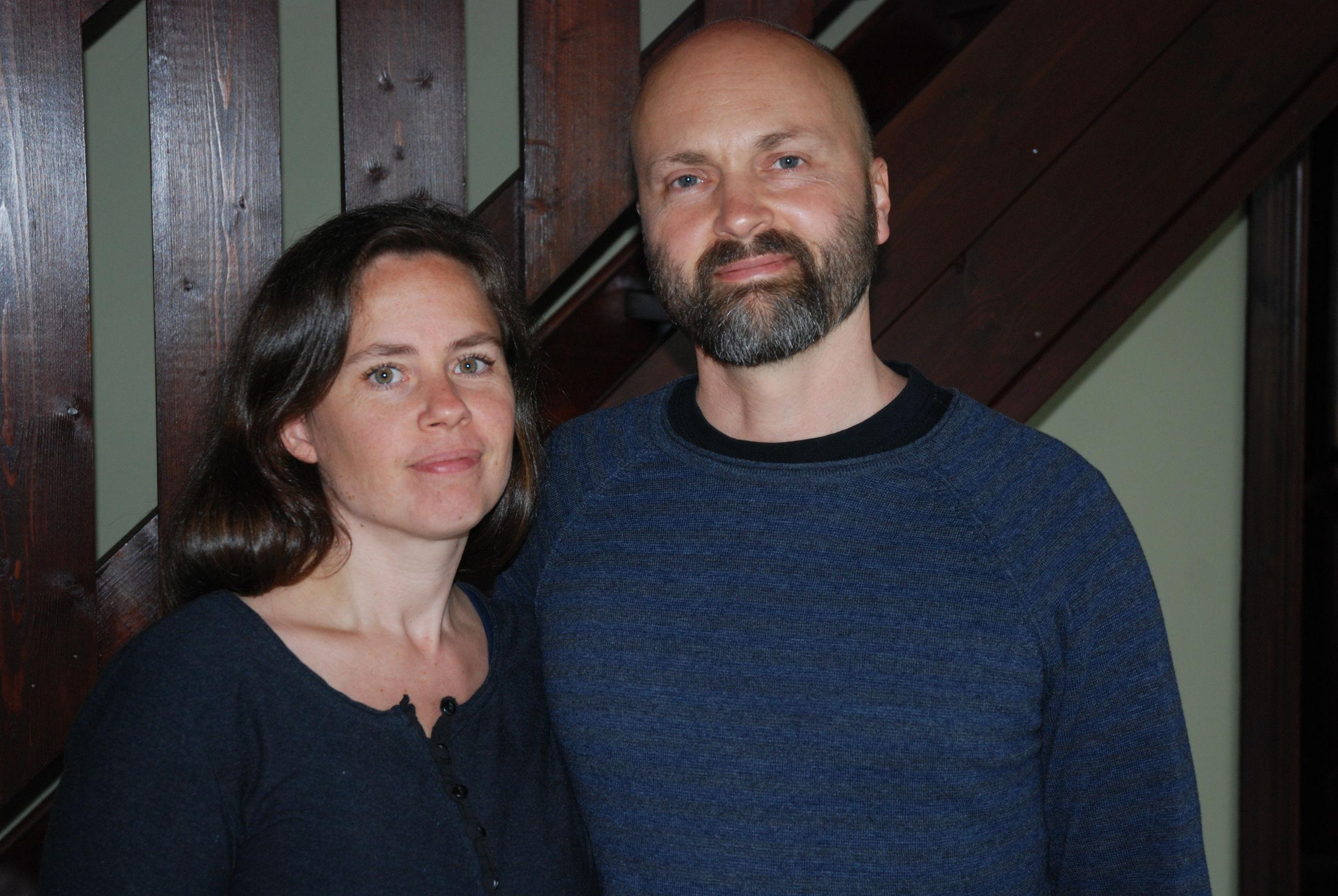 Frida och Robert hittade krleken med hjlp av yoga