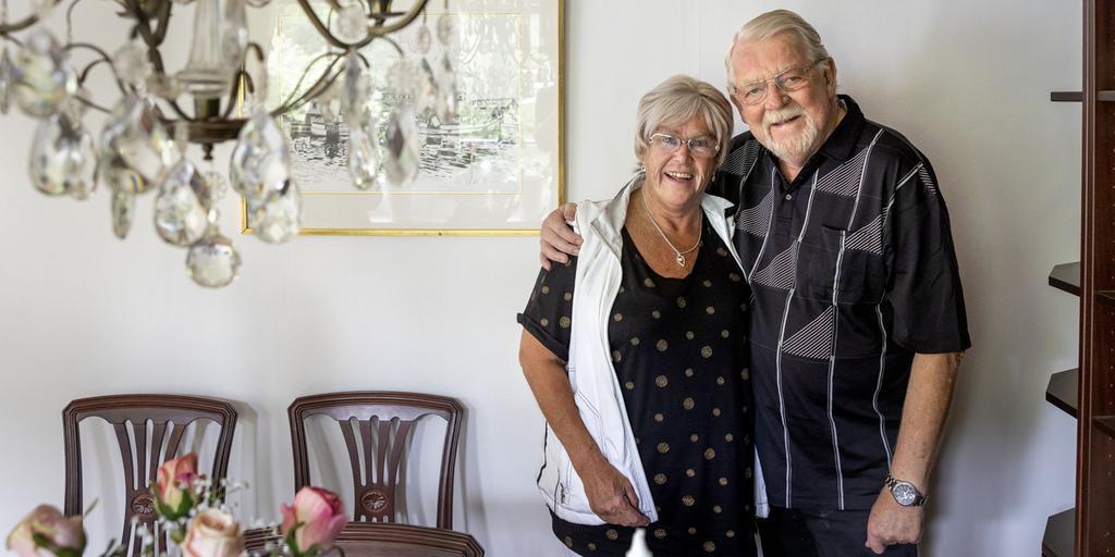 Mona och Bosse har varit gifta i 55 år | Göteborgs-Posten