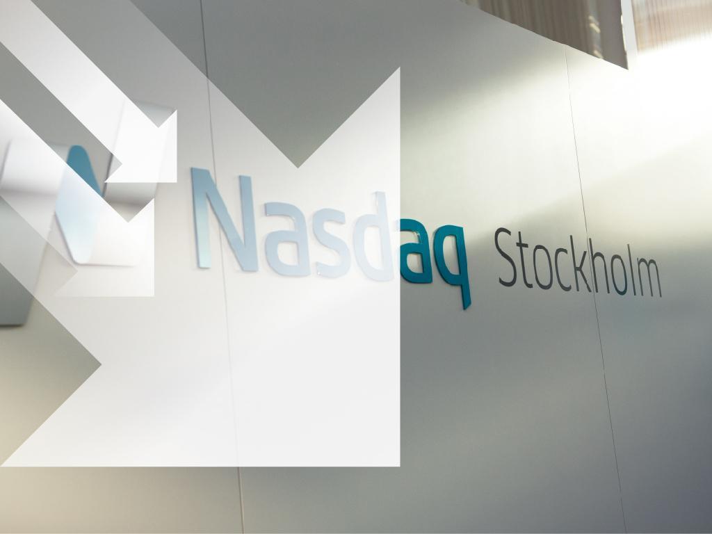 Börsen föll i linje med Europabörser