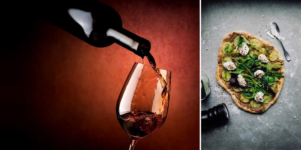vin till vegetarisk mat