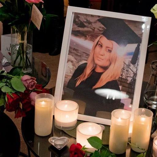 Alexandra Mezher dödades på sitt jobb. Bild: Jonas Lindstedt