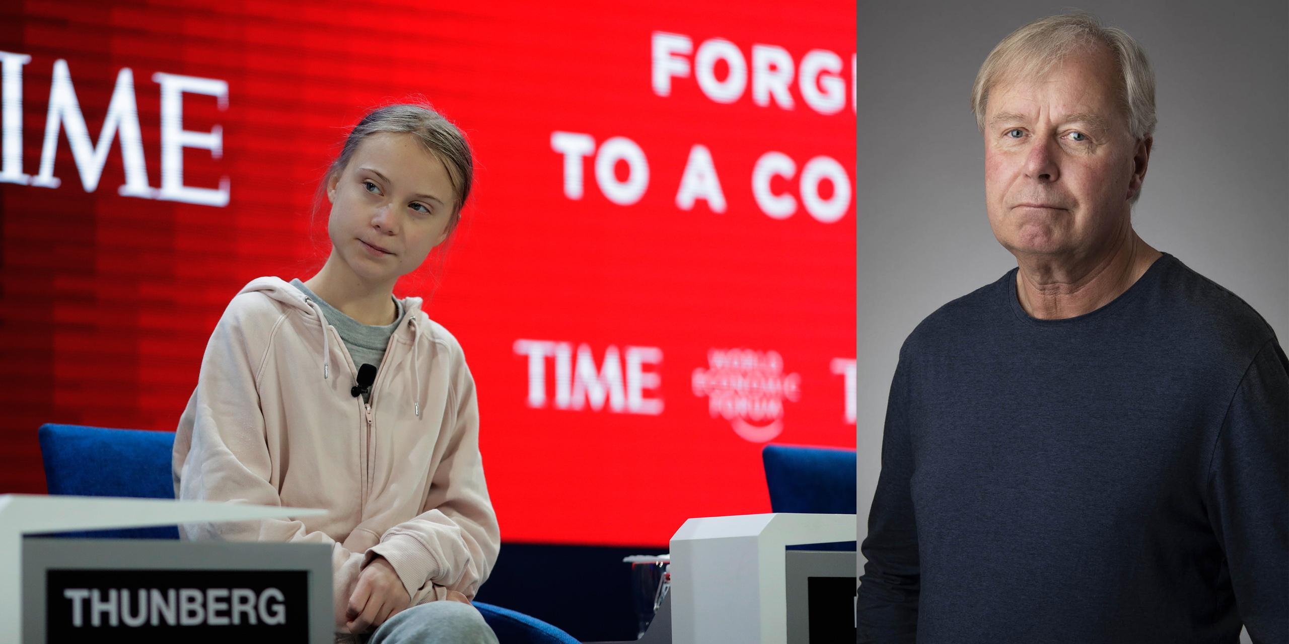 Trump mot Thunberg – två världar möttes i Davos