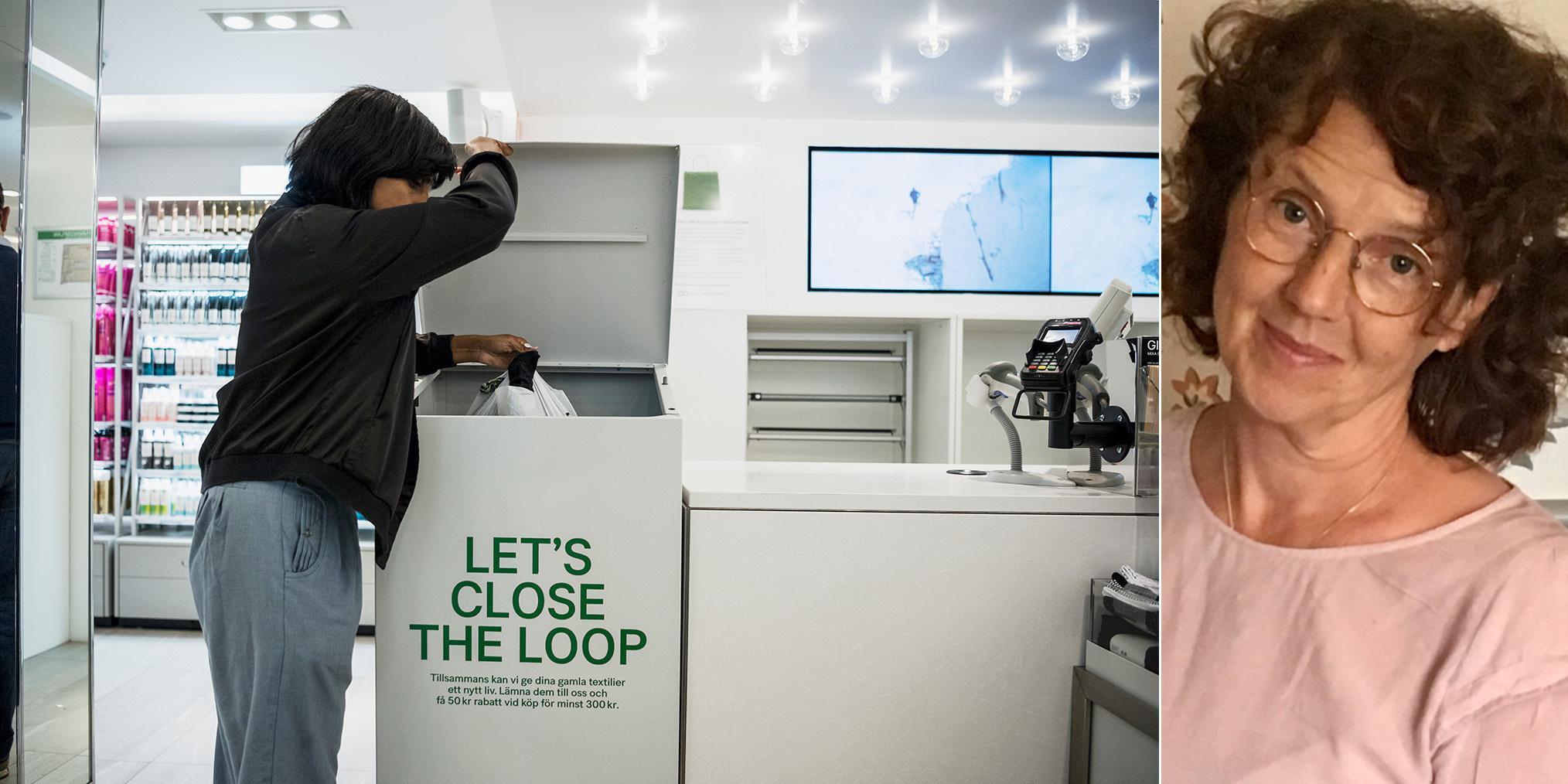 Easter wall Constricted  Ikea och H&M skyltar med återvinning för att lura oss att shoppa | GP