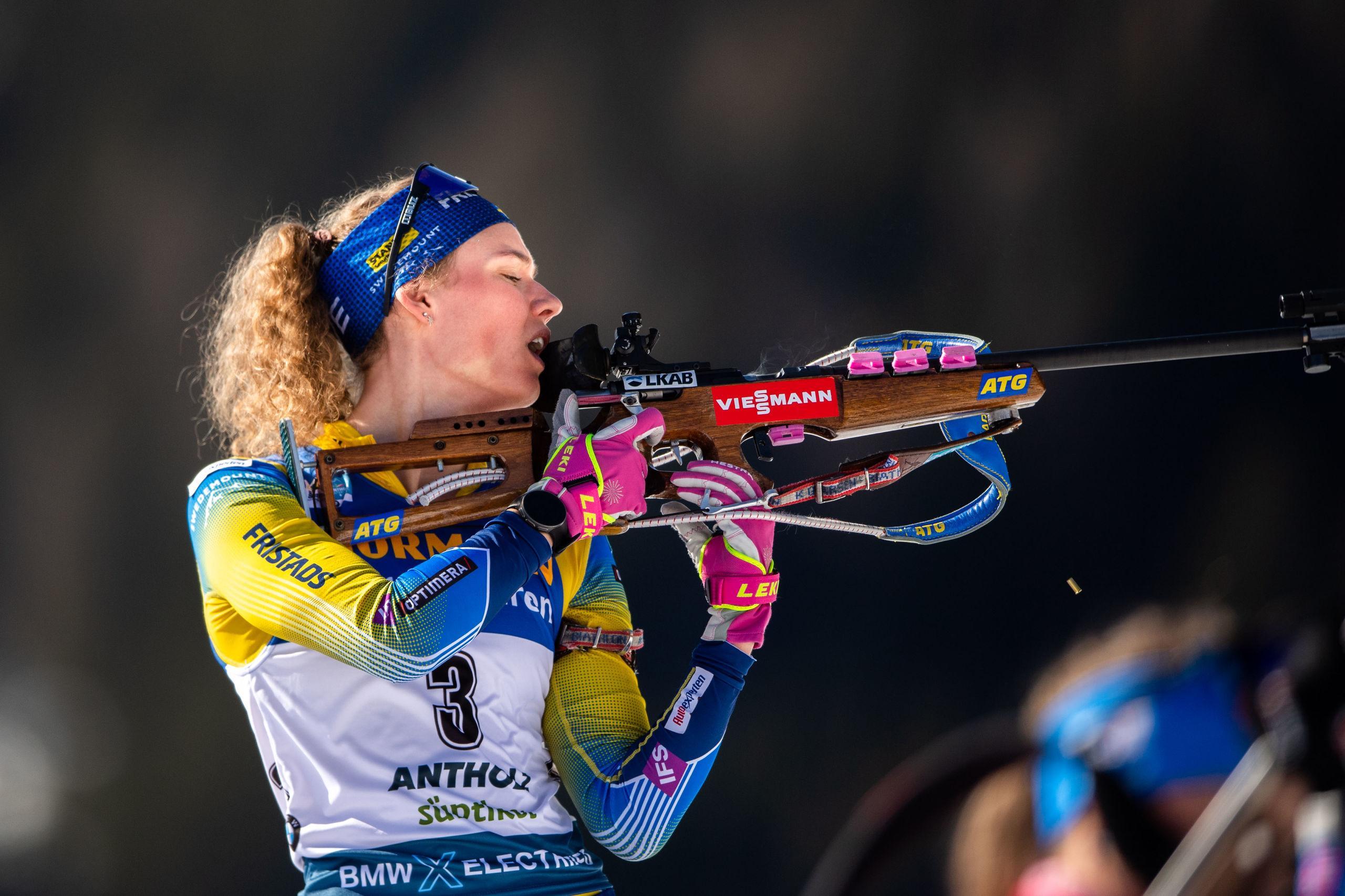 Hanna Öbergs bommar kostade pallplatsen