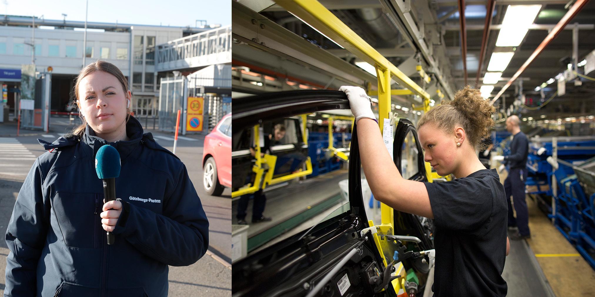 Stopp i produktionen hotar på Volvo