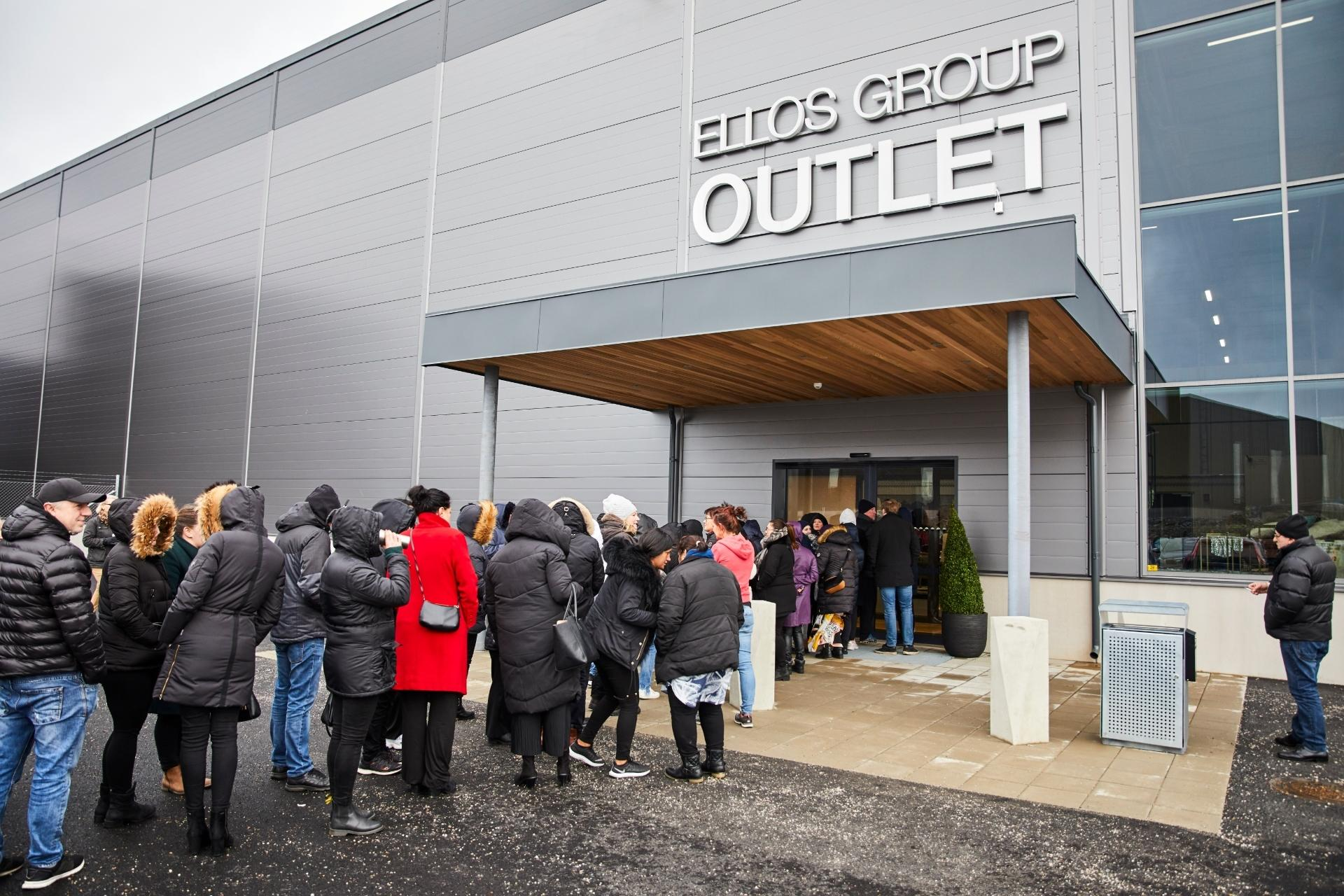 Ellos öppnar outletbutik i Borås