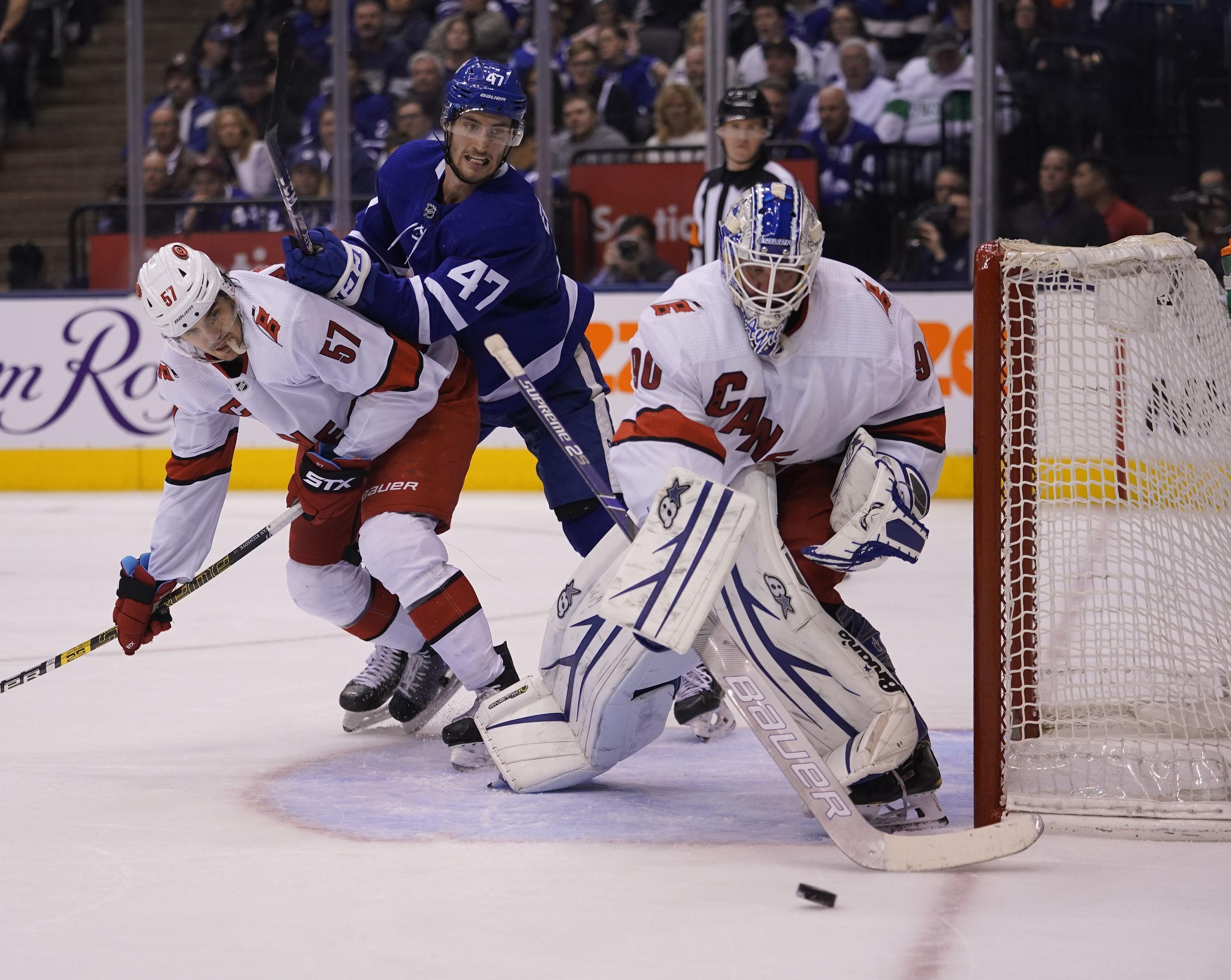 Ismaskinsföraren byttes in i NHL – blev hjälte