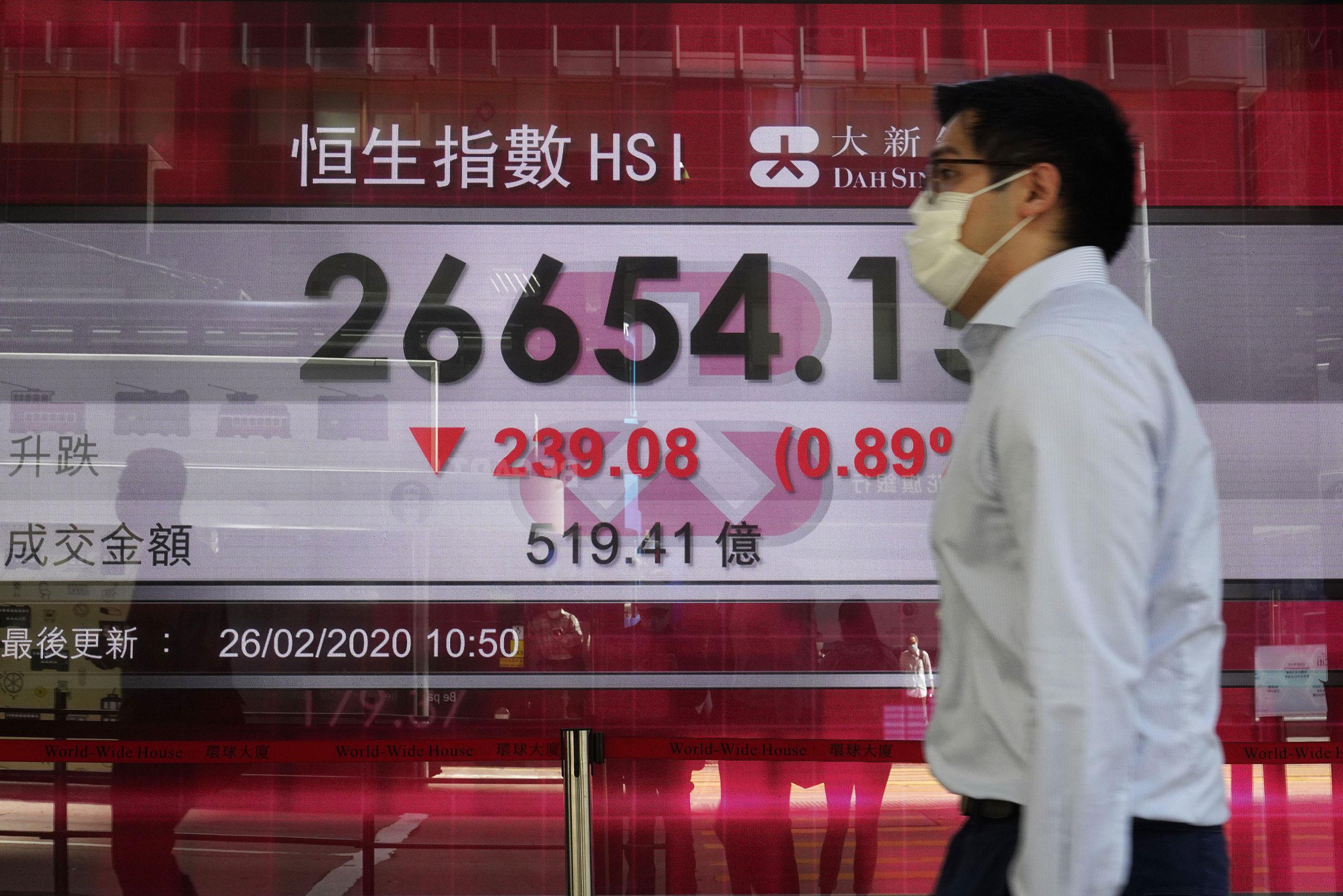 Rekordstort budgetunderskott att vänta i Hongkong