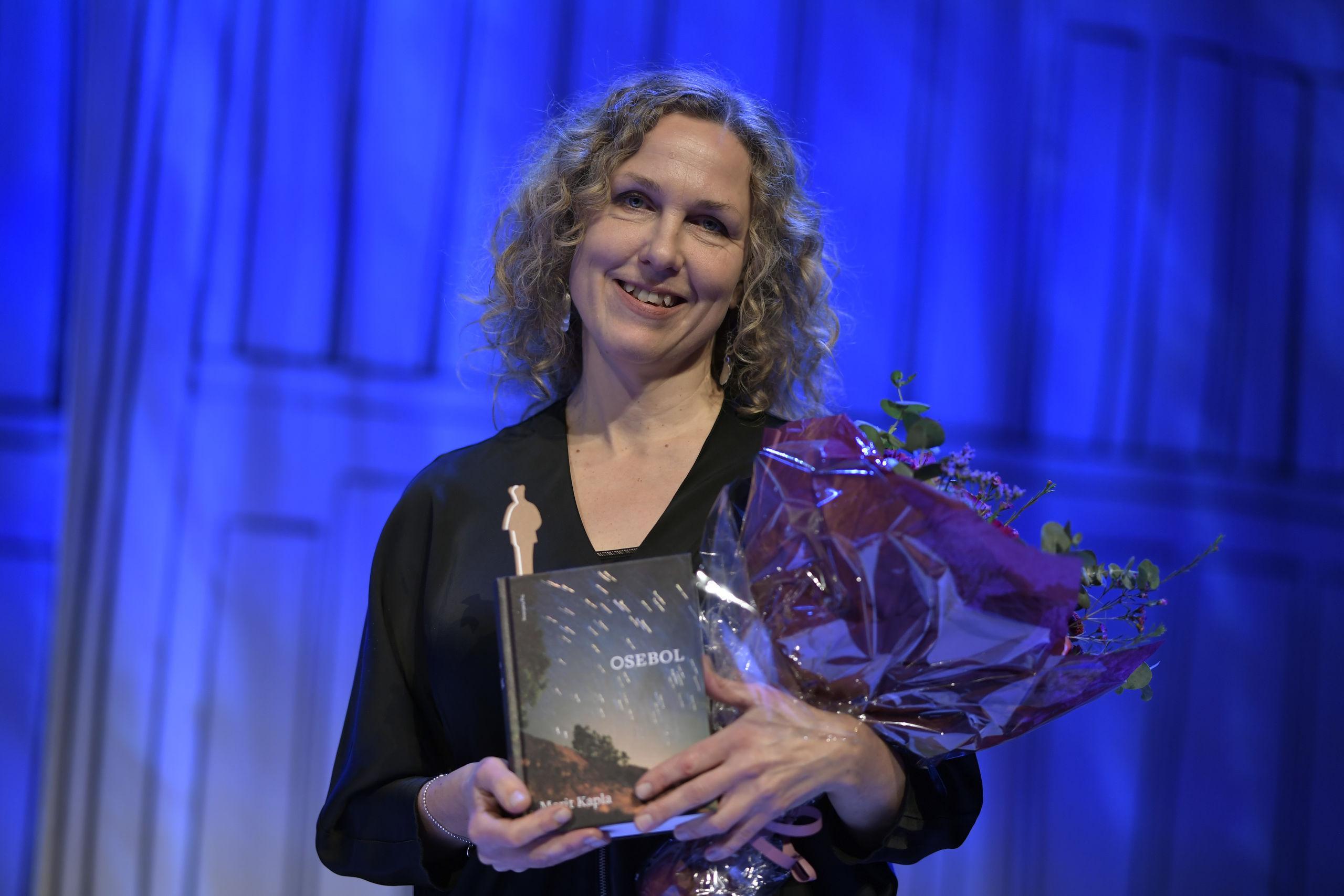 Marit Kapla får Borås Tidnings debutantpris