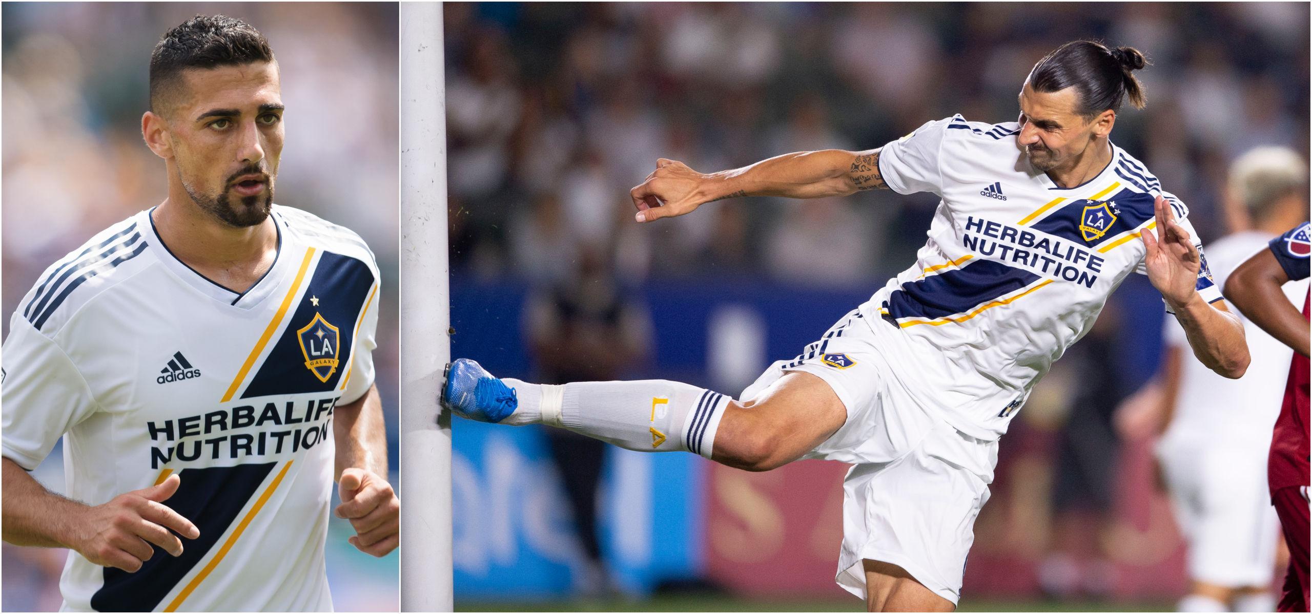 Zlatan Ibrahimovic totalsågas av Sebastian Lletget