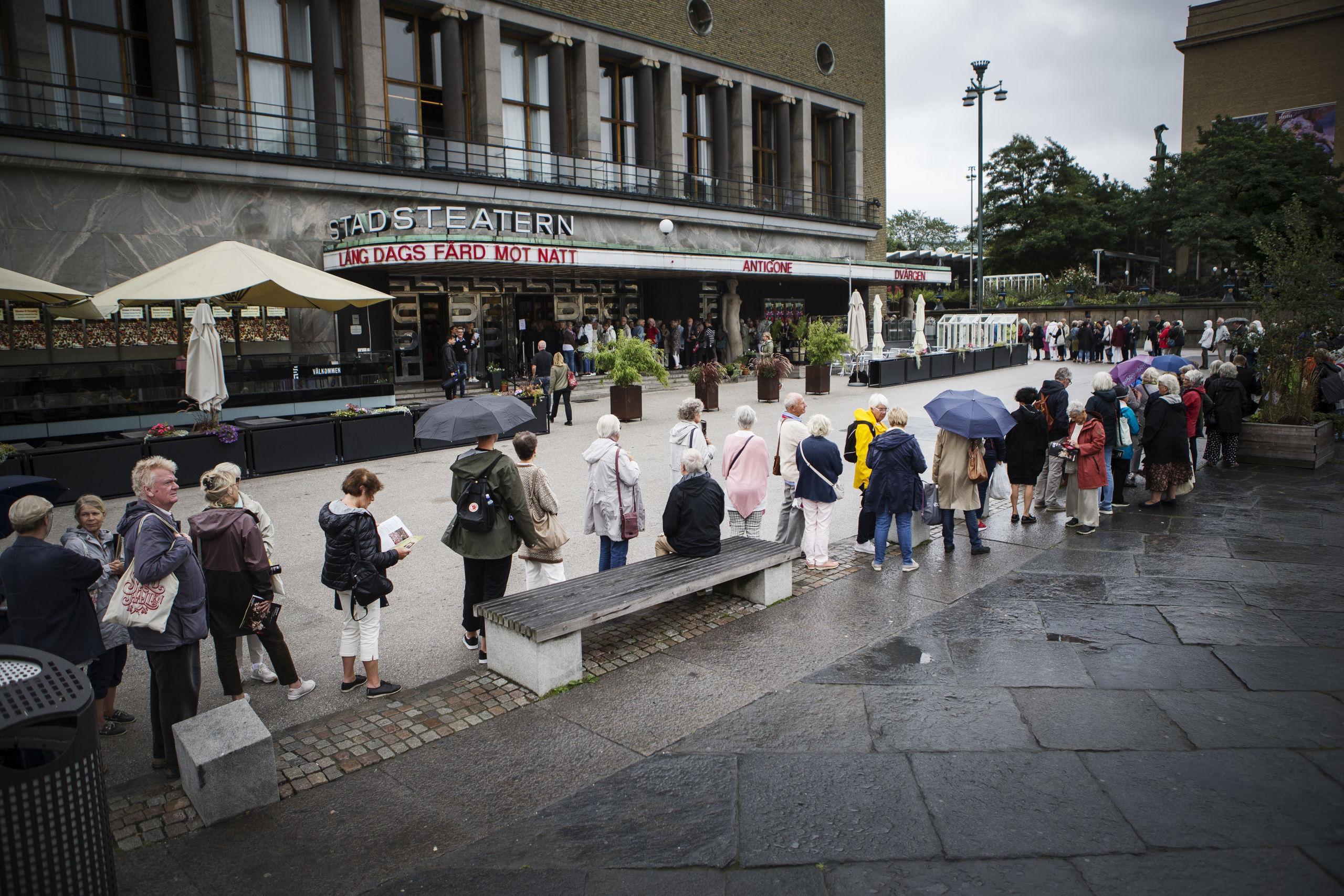 Coronafall på Stadsteatern – stänger två veckor