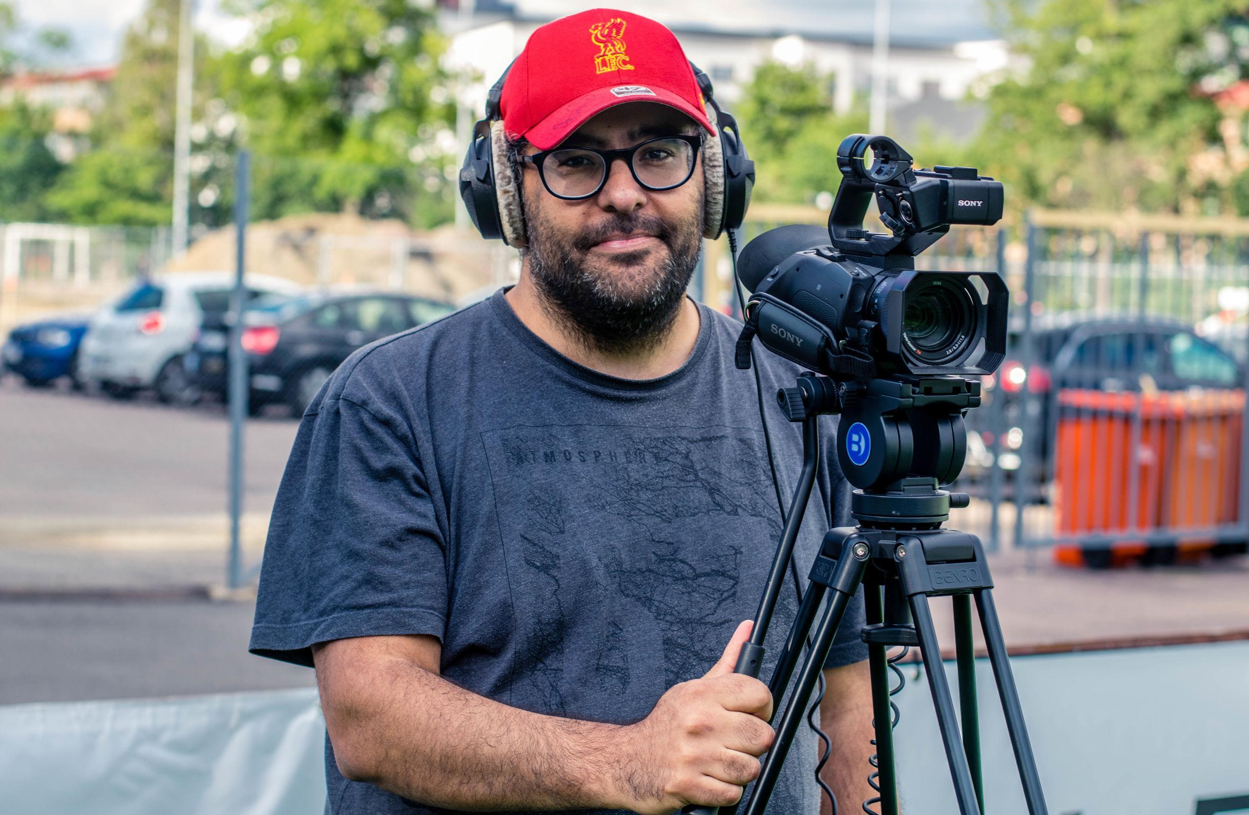 Hans film om Göteborg FC ska visas över hela världen