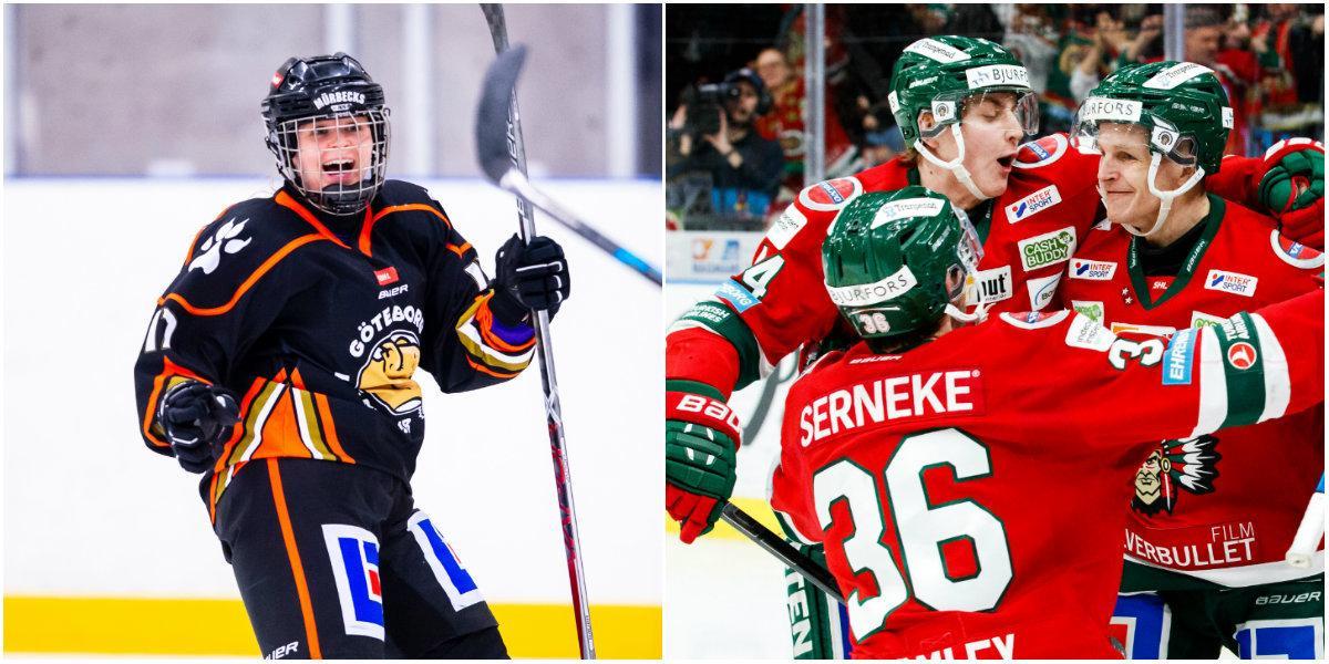 Frölunda skänker NHL-pengen till Göteborg HC