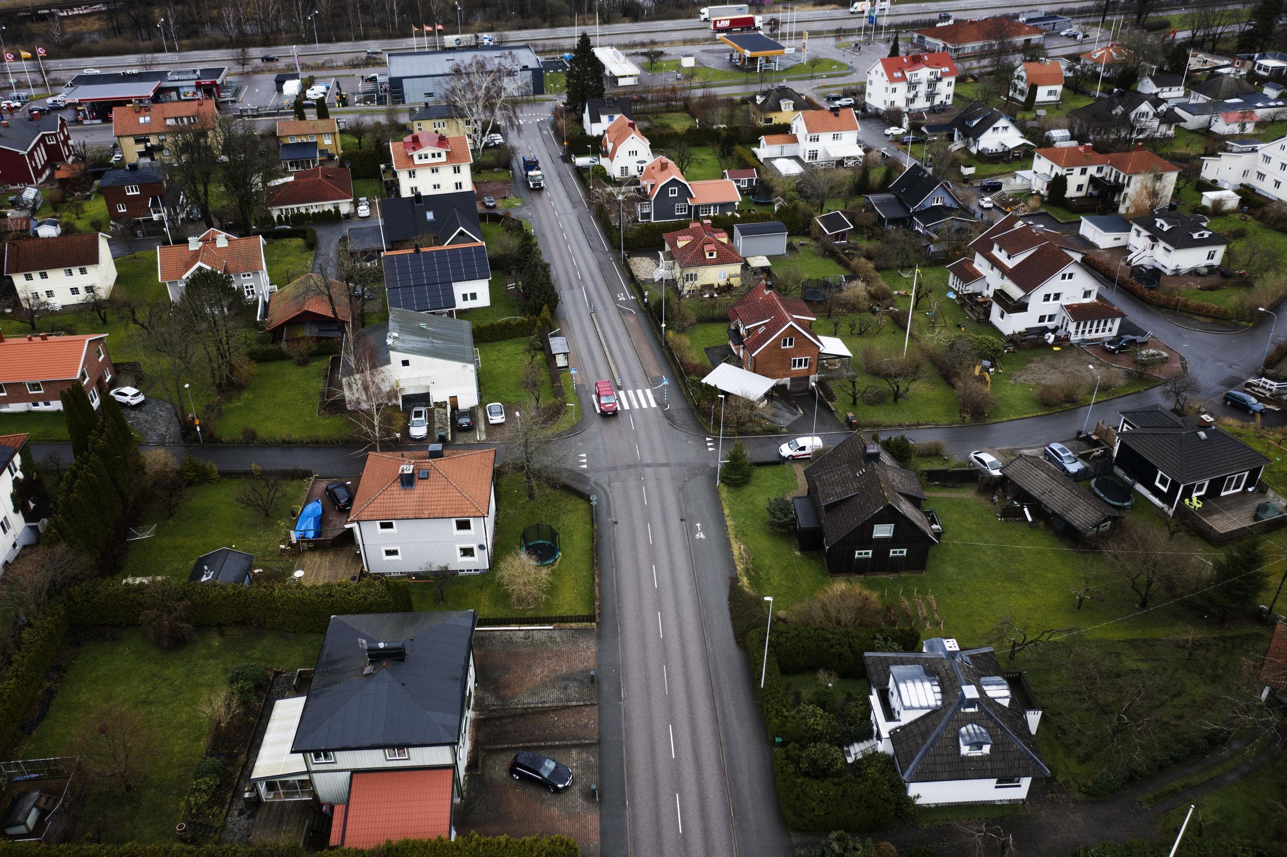 Villapriserna i Partille har gått om Göteborg