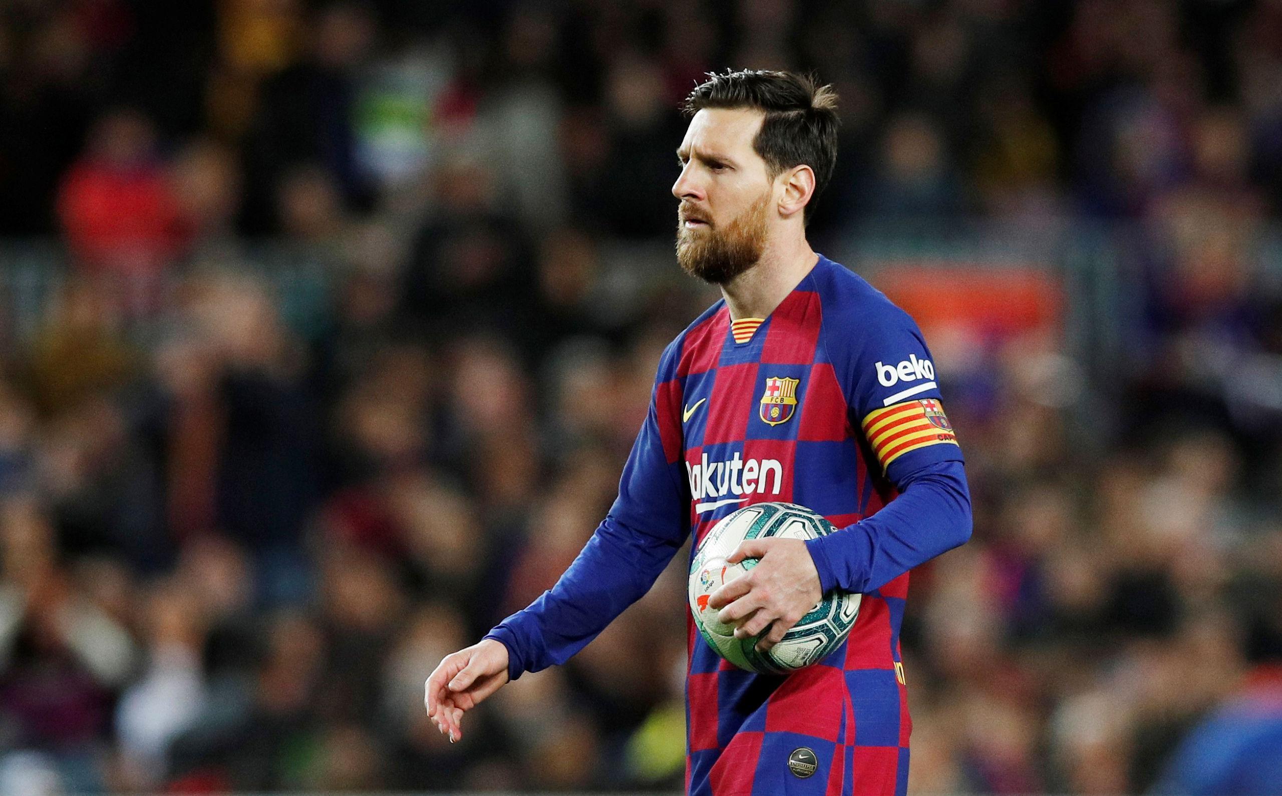 """Messi om speciella mötet: """"Vågade inte titta på honom"""""""