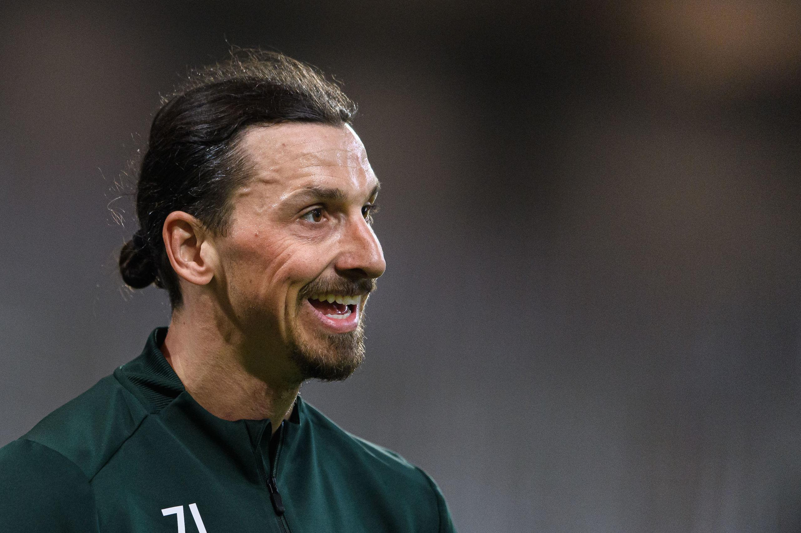 """Zlatan Ibrahimovic nya Hammarby-flört: """"Vi ses på plan"""""""