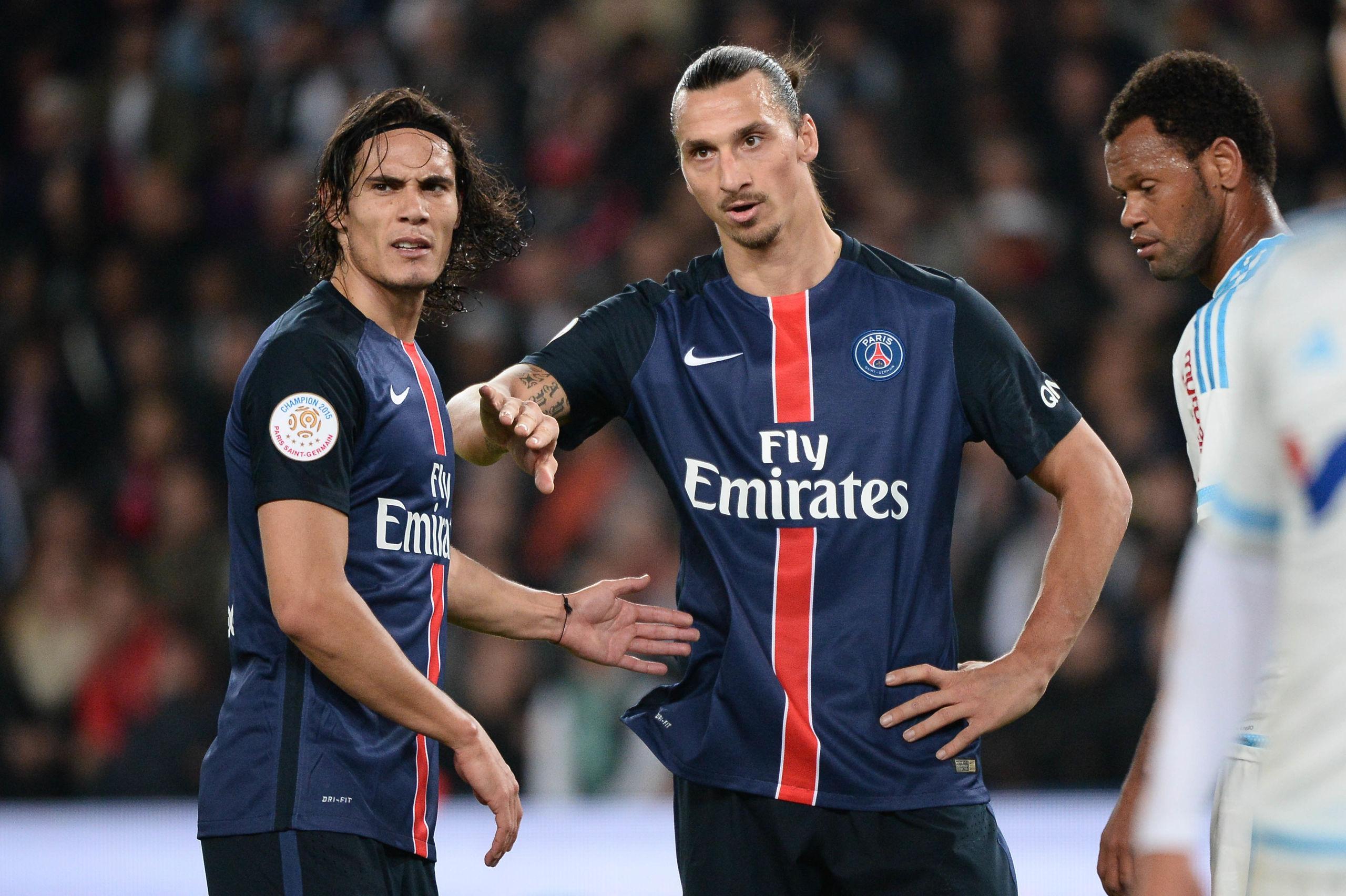 Lagkamraten avslöjar: Zlatan Ibrahimovic hatade Edinson Cavani
