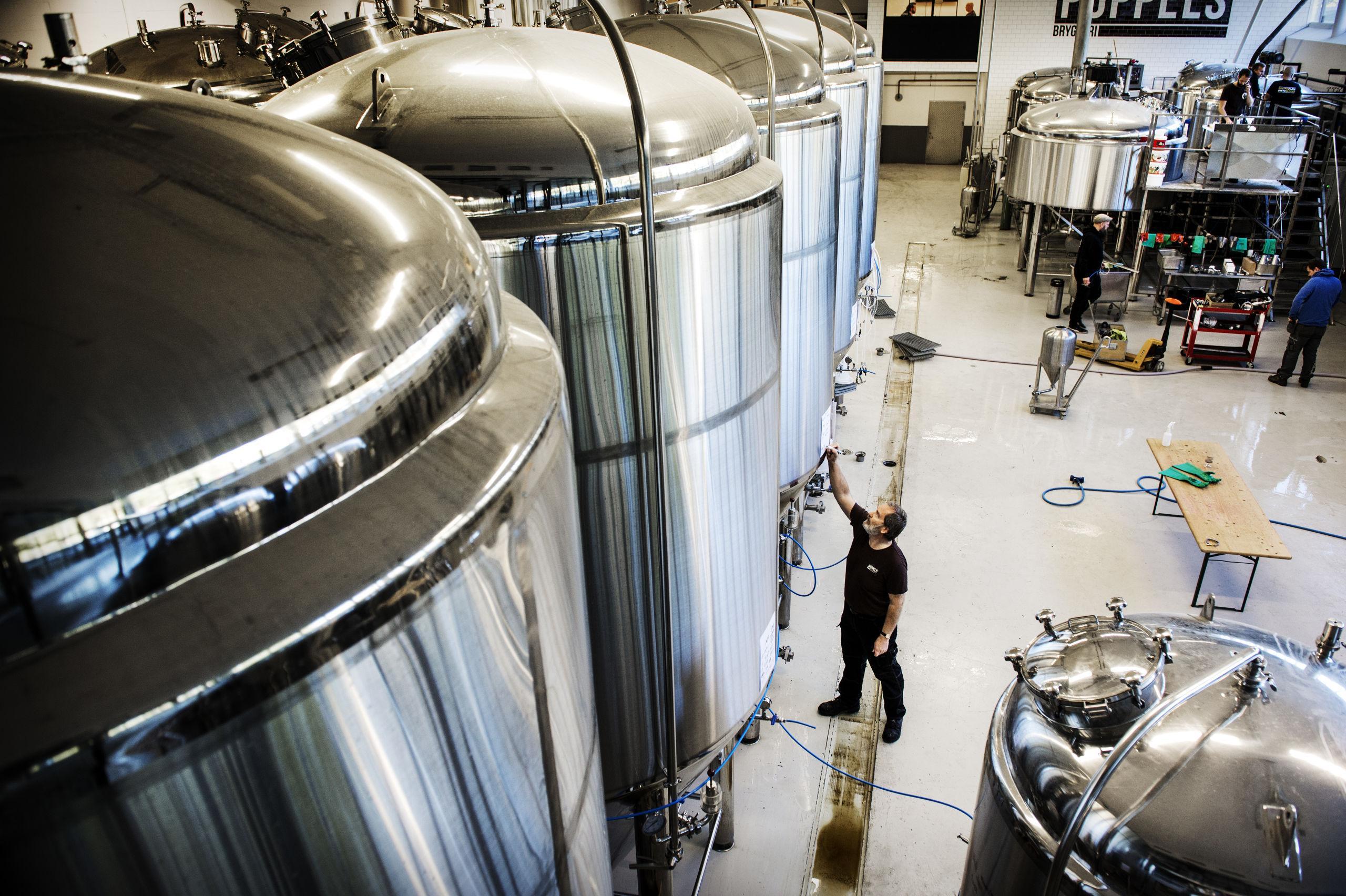 De öppnar bryggeri mitt i centrala Göteborg