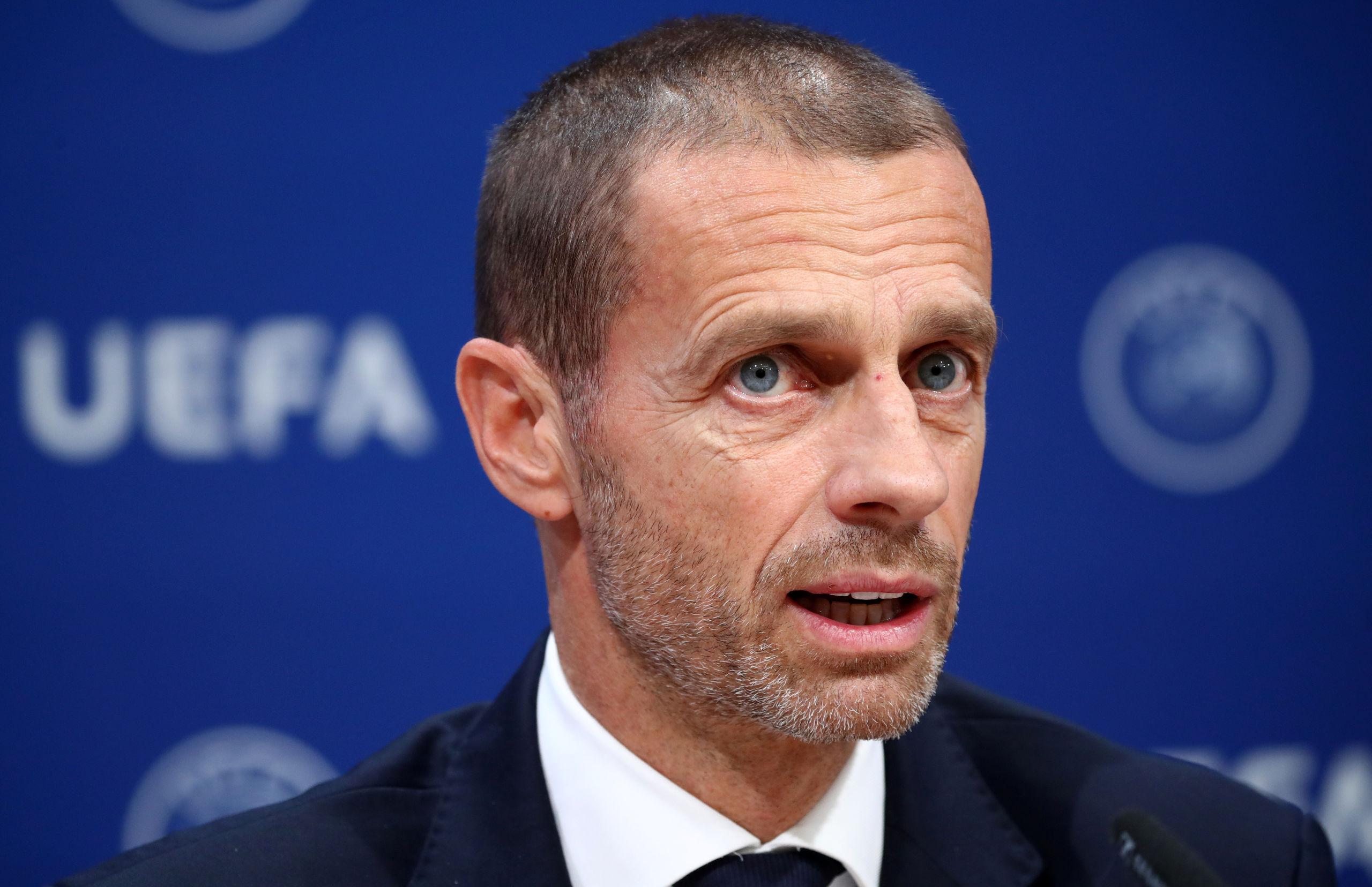 Uefa-presidenten Aleksander Ceferin tror inte fotbollen förändras av coronaviruset
