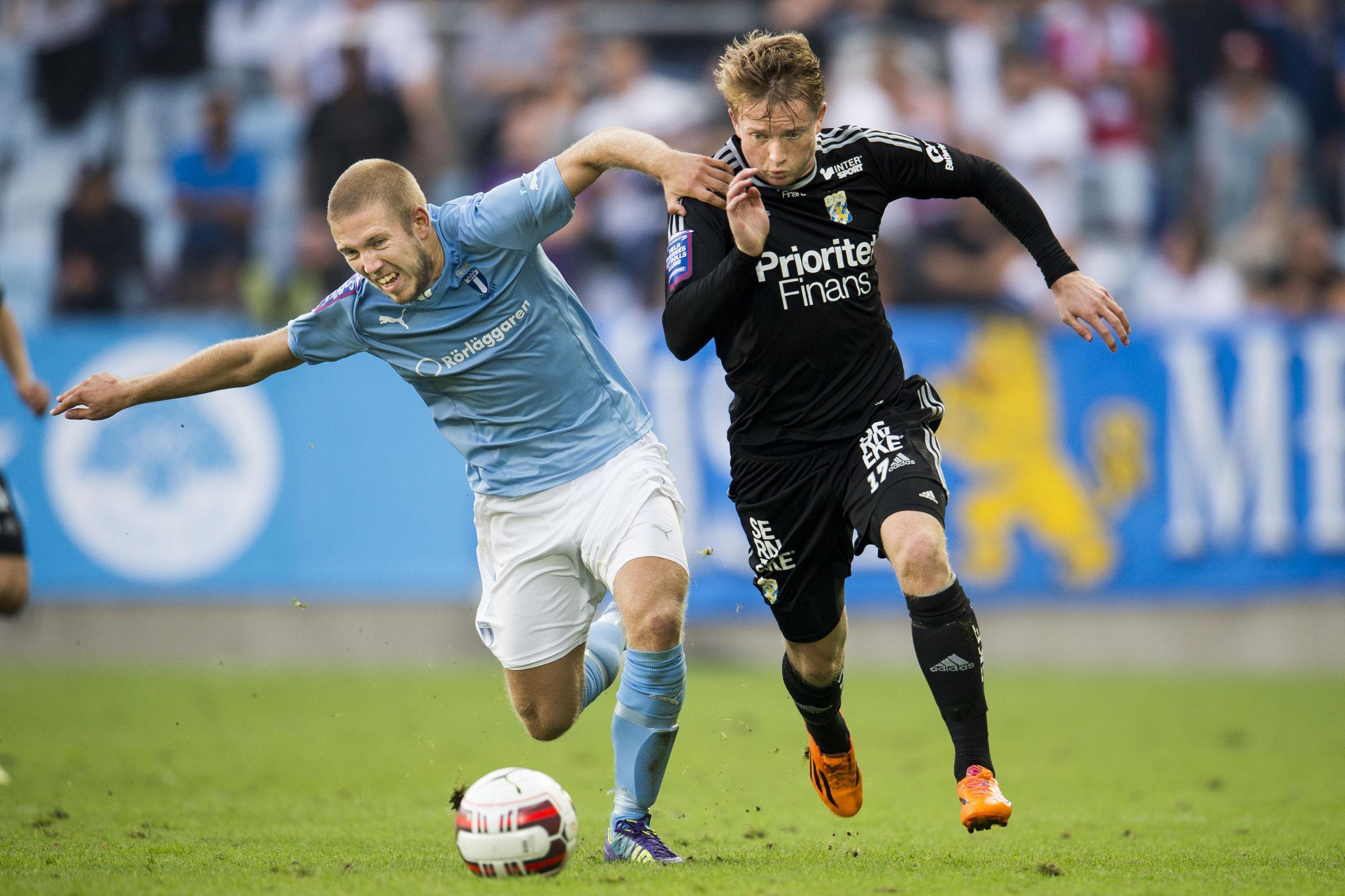 Sam Larsson tränar med IFK Göteborg