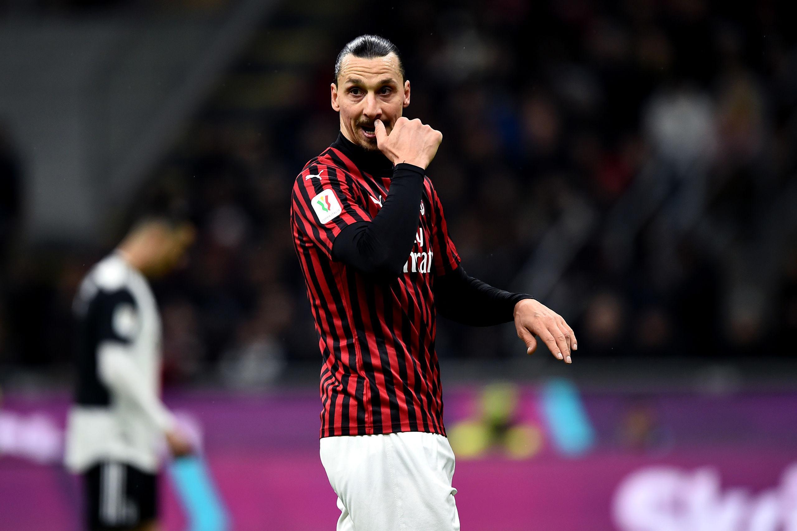 Milan: Zlatan stannar i klubben