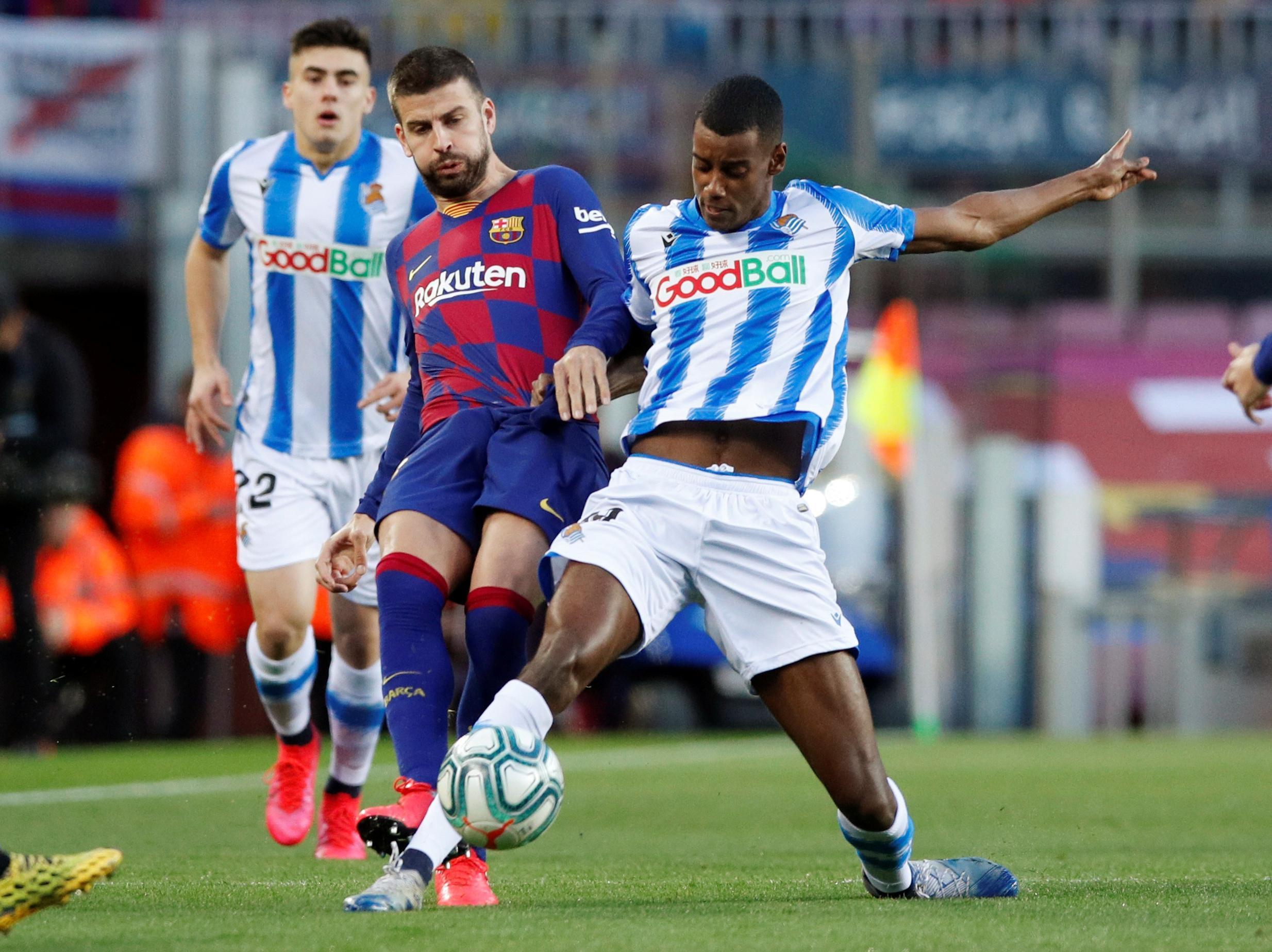 Oviss toppstrid när den spanska fotbollen startar om