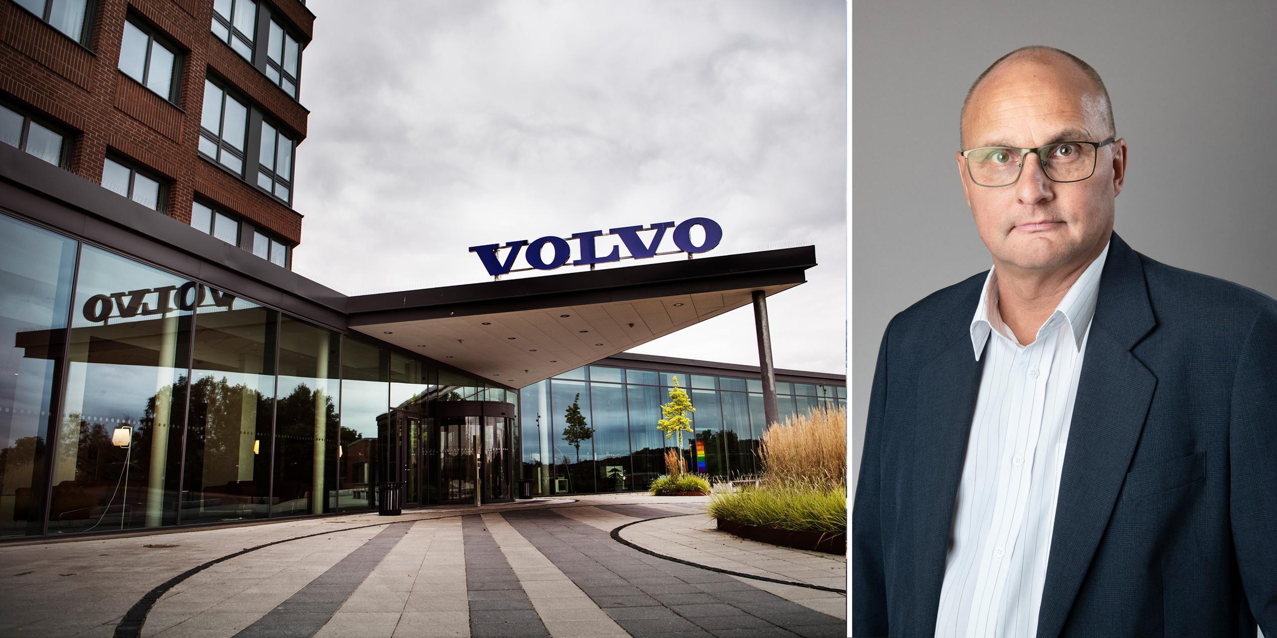 AB Volvos besked inte oväntat