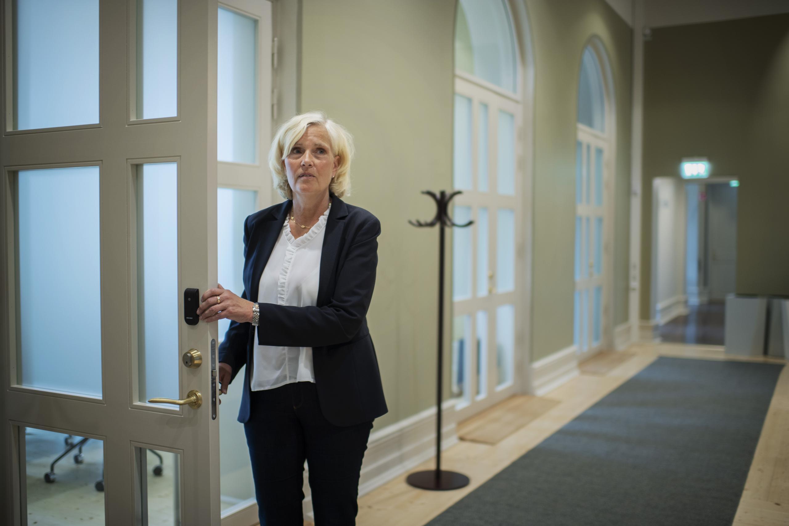Sjukvårdsdirektör Ann Söderström går till Carlanderska