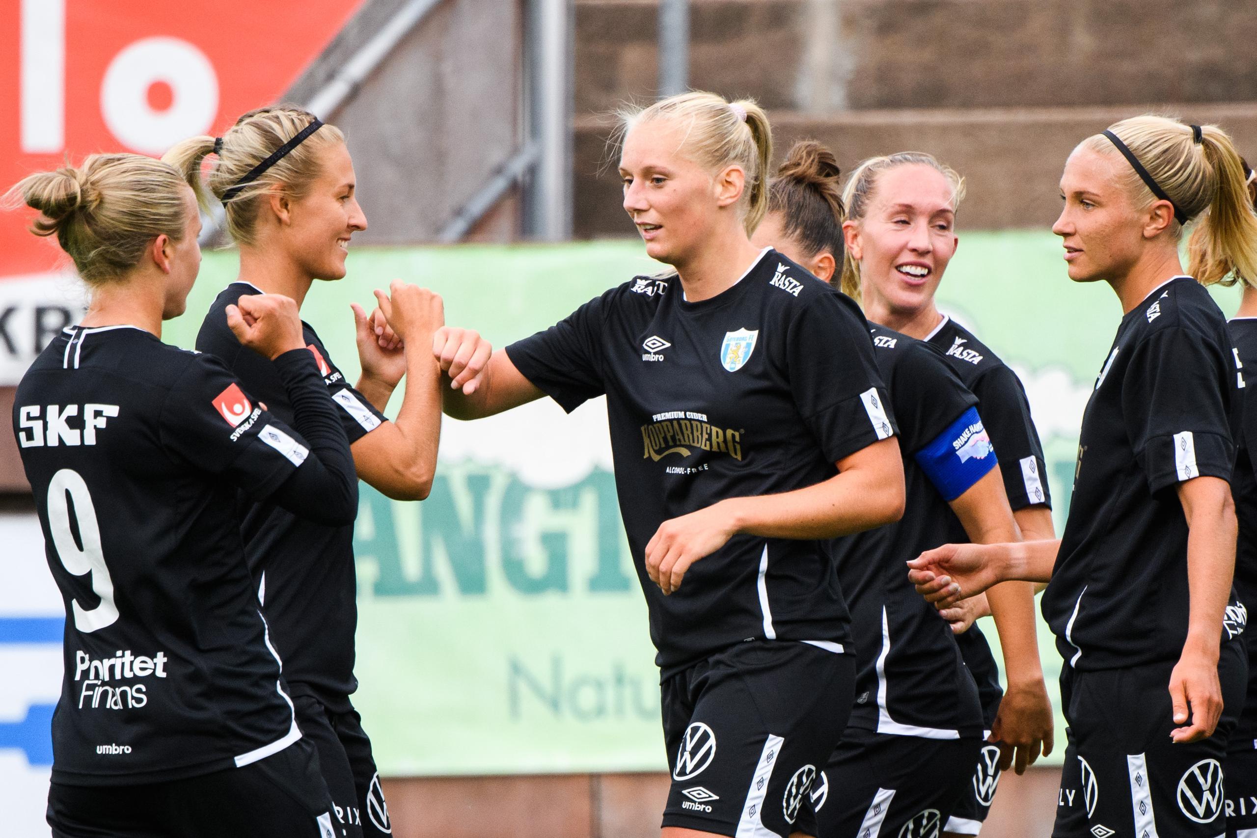 Blackstenius gjorde första målet i GFC:s kross