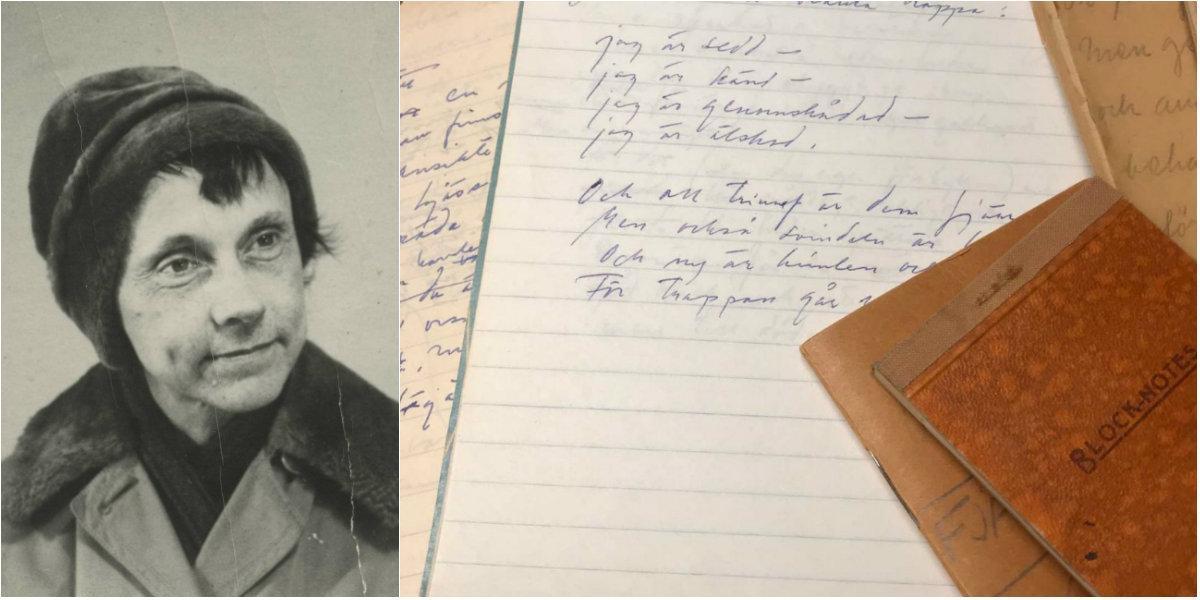 Poeten Anna Greta Wide gör comeback