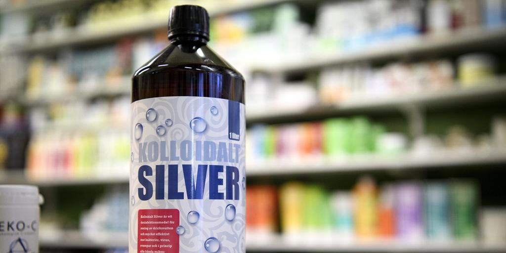 kolloidalt silver halsfluss