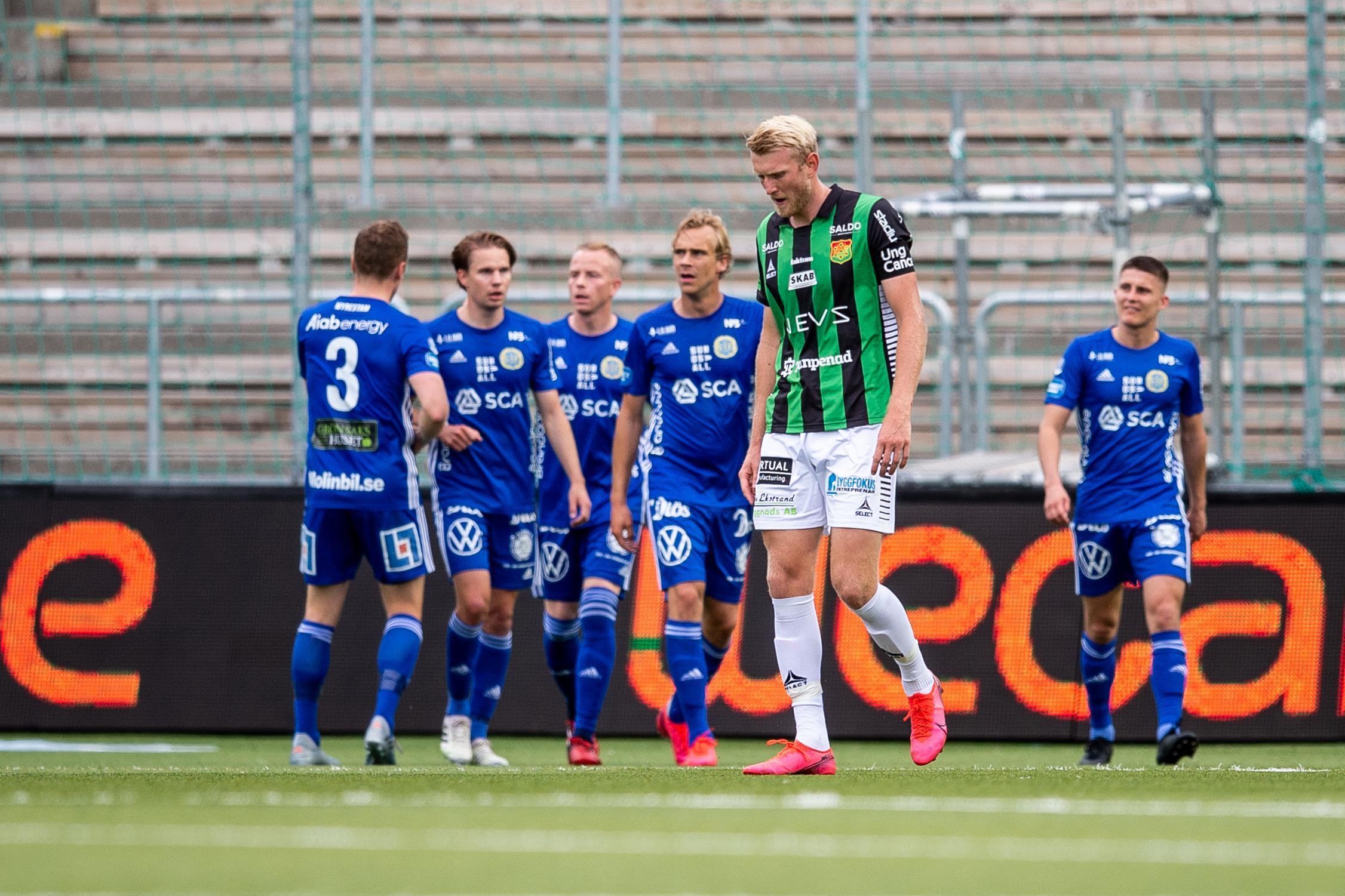 Gais utspelat – tung 3-0 förlust mot GIF Sundsvall
