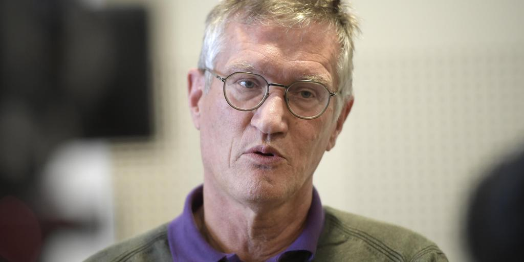 Anders Tegnell Om Att 50 Personersgrans Inte Hojs Gp