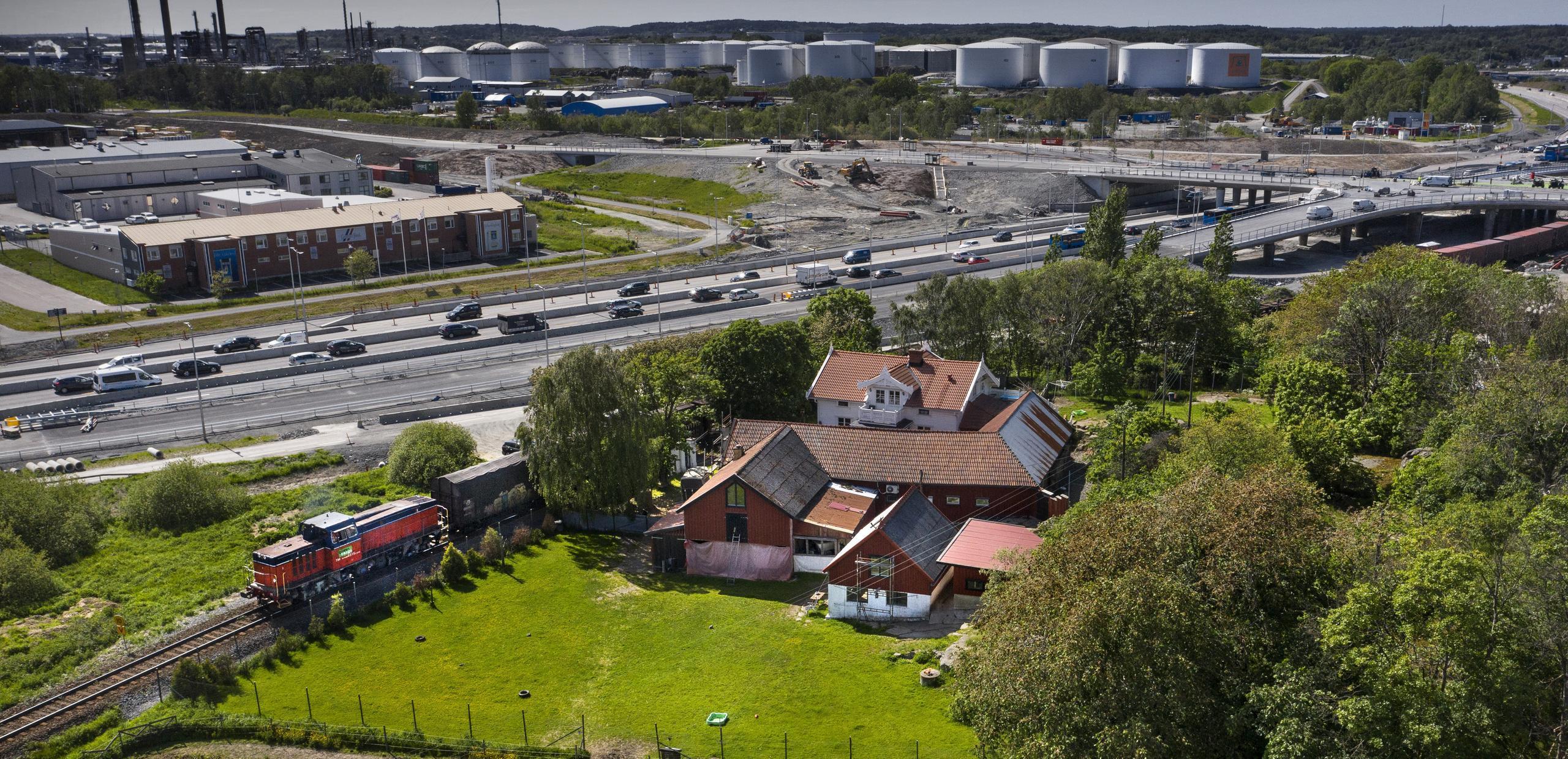 Nya tvärlänken i Torslanda ska stå klar 2025