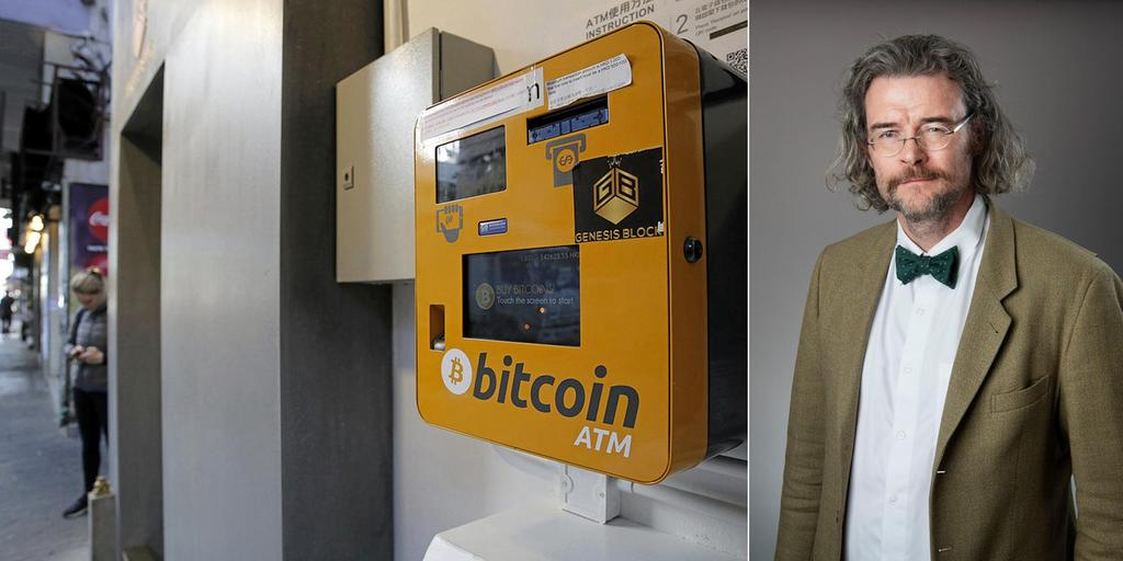 Vem G R Pengarna Till N R Vi K Per Bitcoin