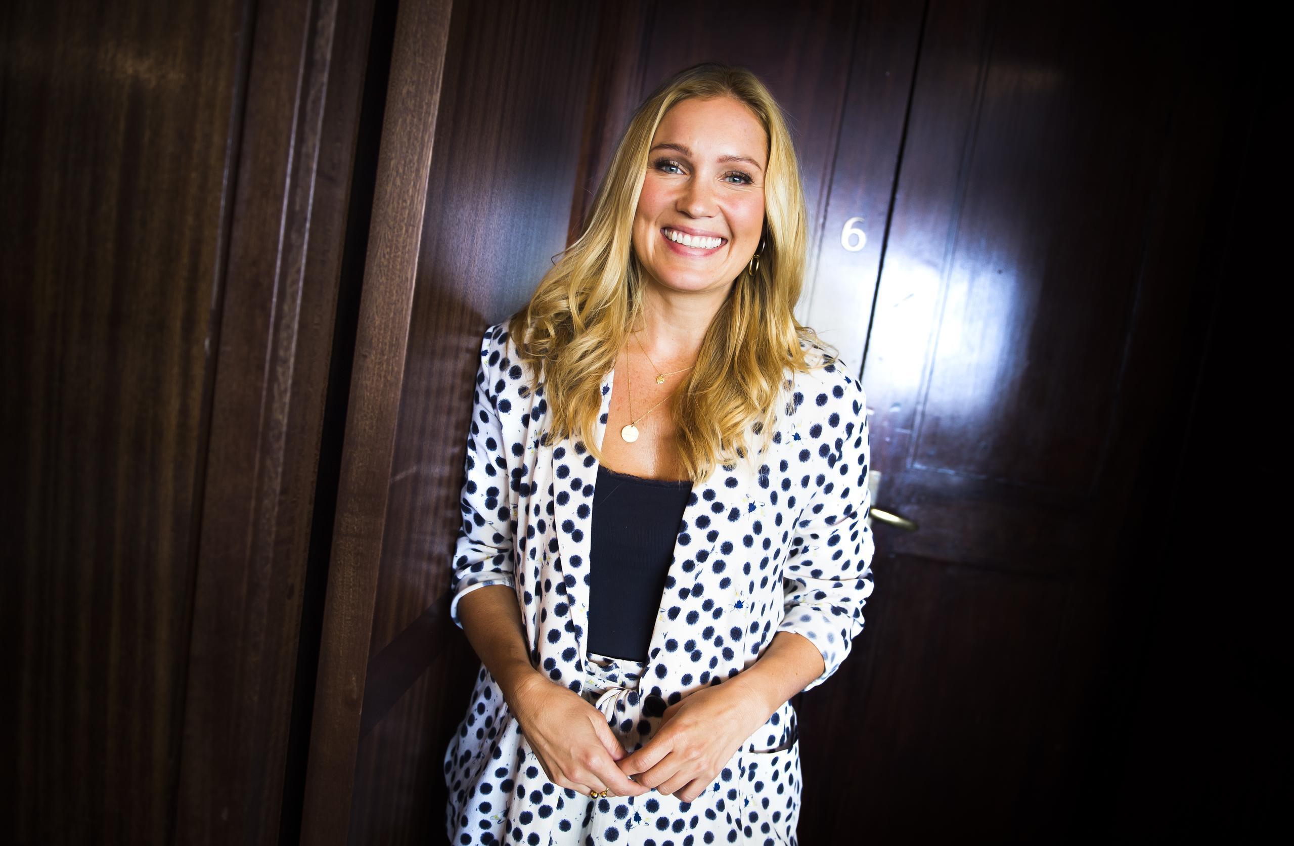 Jessica Almenäs gillar att jobba under press