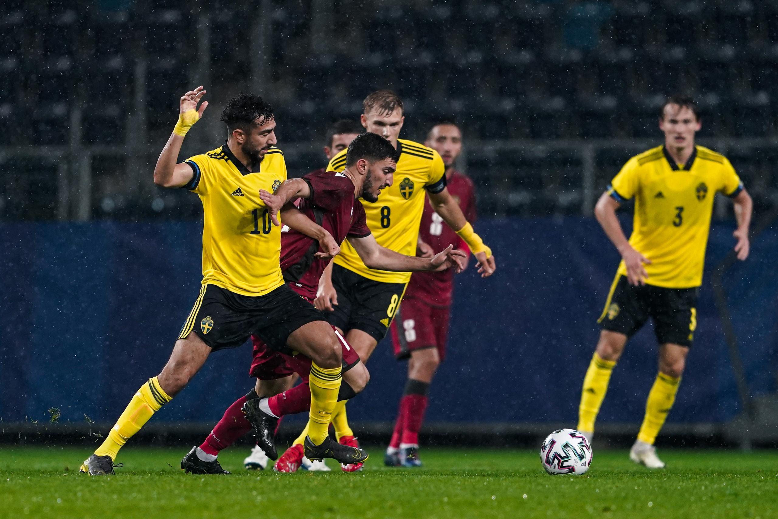 Sveriges U21-match mot Armenien ställs in