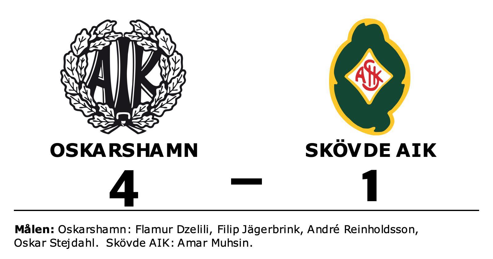 Klar seger för Oskarshamn mot Skövde AIK på Arena Oskarshamn