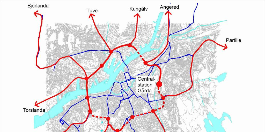 Vastlanken Blockerar Kollektivtrafiken Till Hisingen