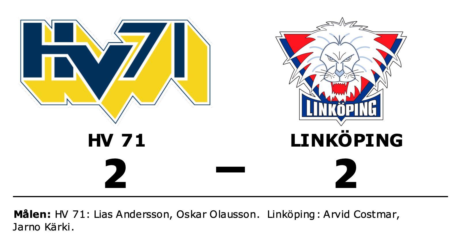 Linköping starkast i straffläggningen – vann borta mot HV 71